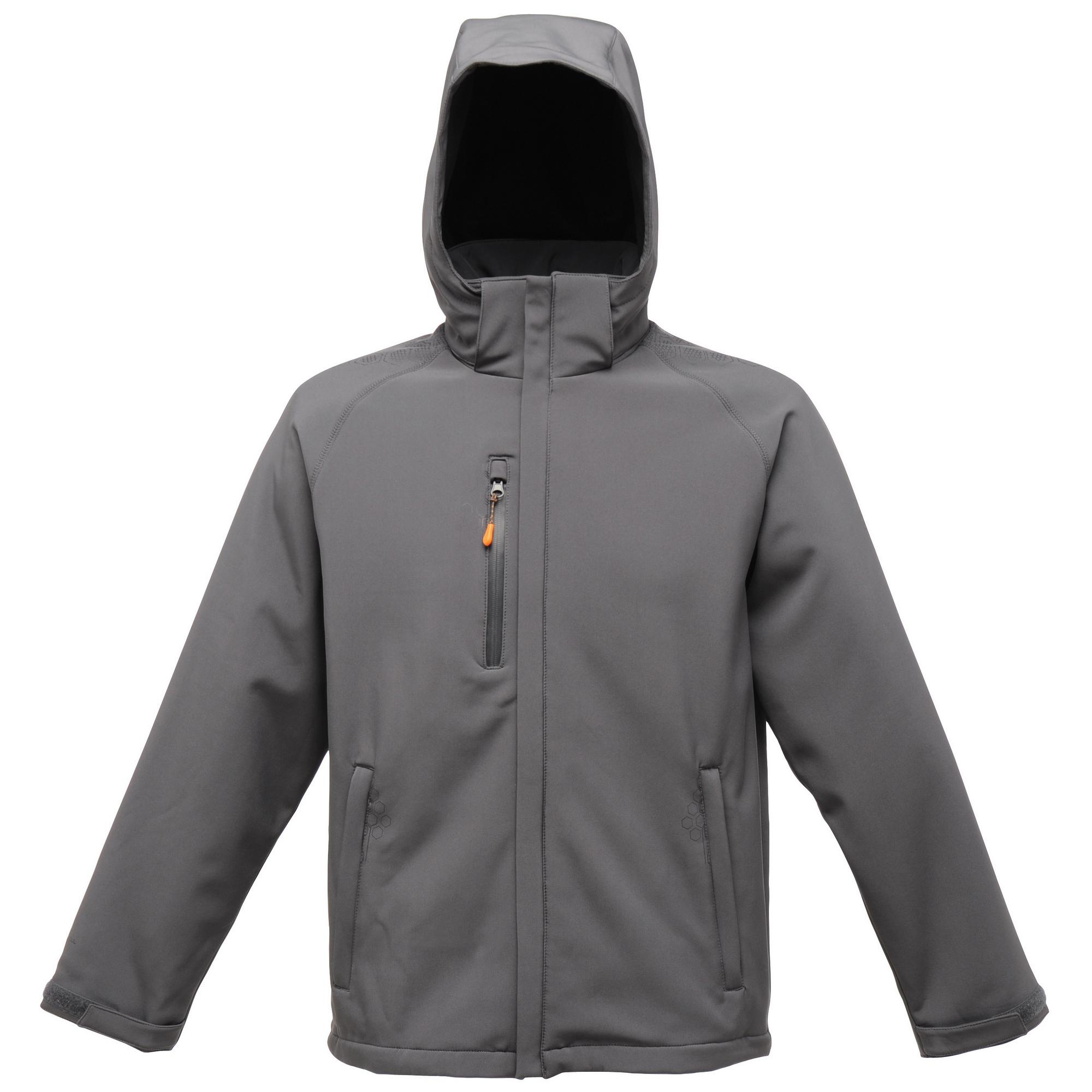 Regatta Mens X-Pro Repeller Softshell Jacket (water Repellent) (2XL) (Seal Grey)