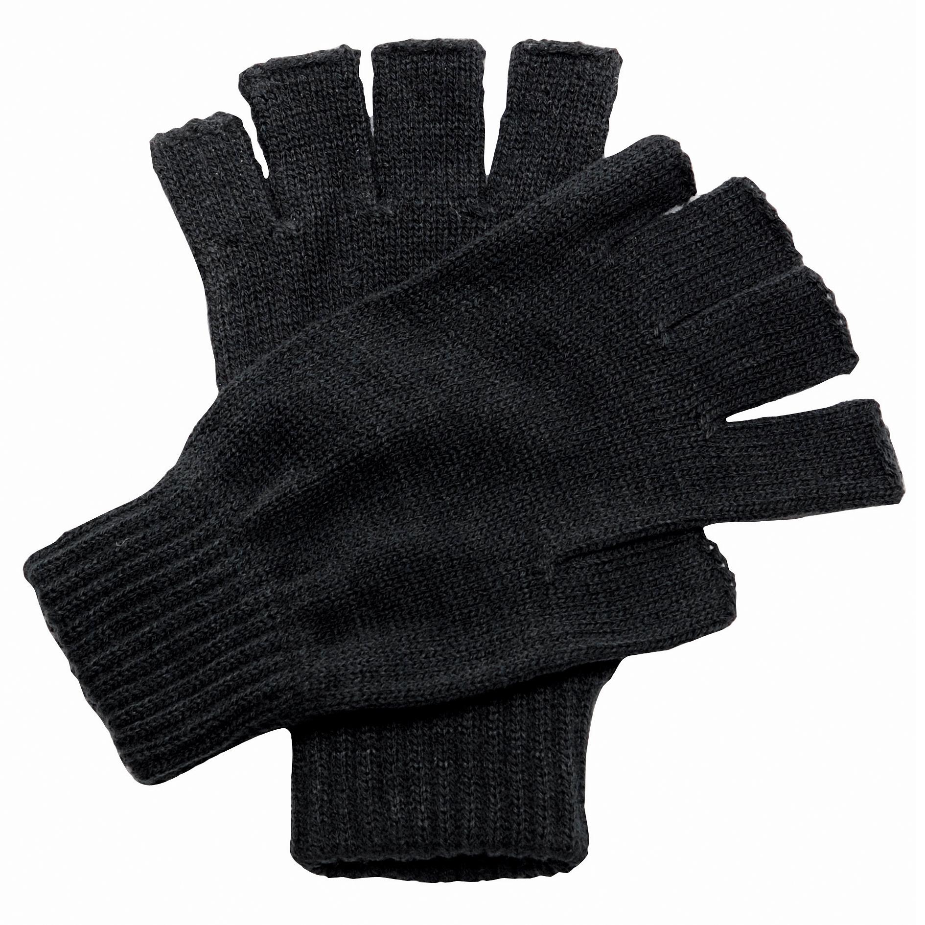 Regatta-Unisex-Fingerless-Mitts-Gloves-RW1249 thumbnail 4