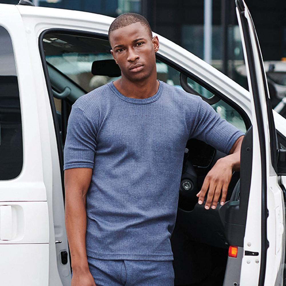 Regatta-T-shirt-thermique-a-manche-courtes-Homme-S-2XL-3-couleurs-RW1258 miniature 10