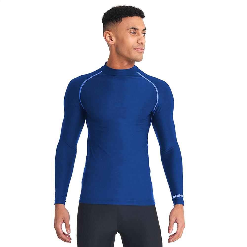 Rhino Mens Thermal Underwear Long Sleeve Base Layer Vest Top (L/XL) (Yellow)