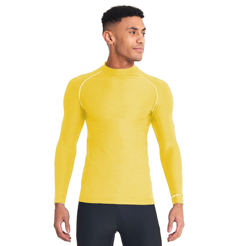 Rhino Mens Thermal Underwear Long Sleeve Base Layer Vest Top (3XL) (White)