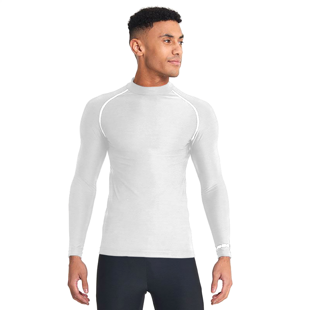 Rhino Mens Thermal Underwear Long Sleeve Base Layer Vest Top (3XL) (Light Blue)