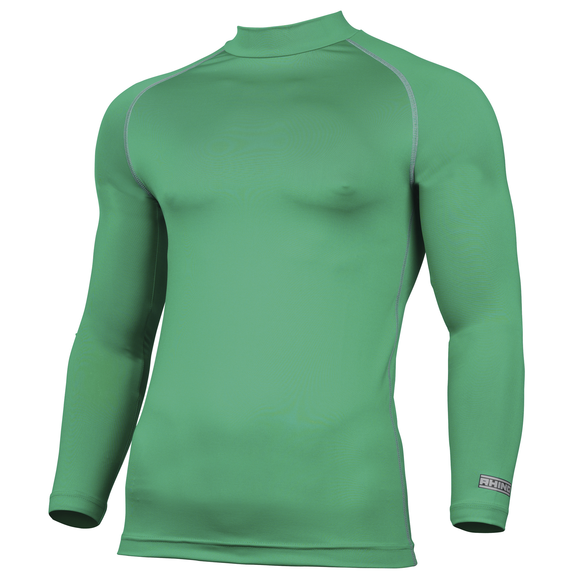 Rhino Mens Thermal Underwear Long Sleeve Base Layer Vest Top (L/XL) (Pink)