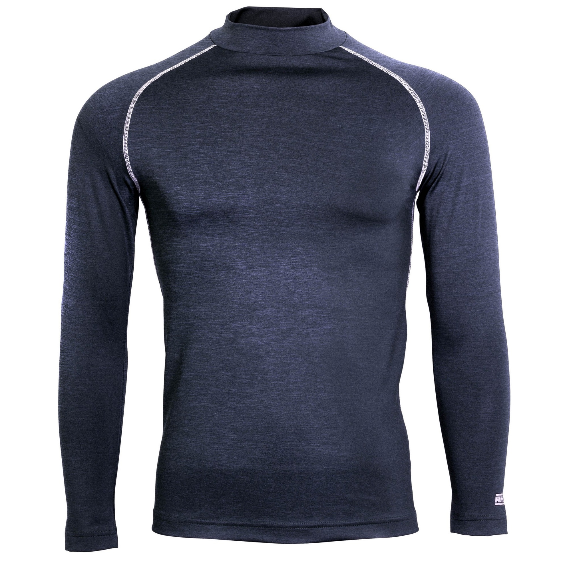 Rhino Mens Thermal Underwear Long Sleeve Base Layer Vest Top (L/XL) (Red)