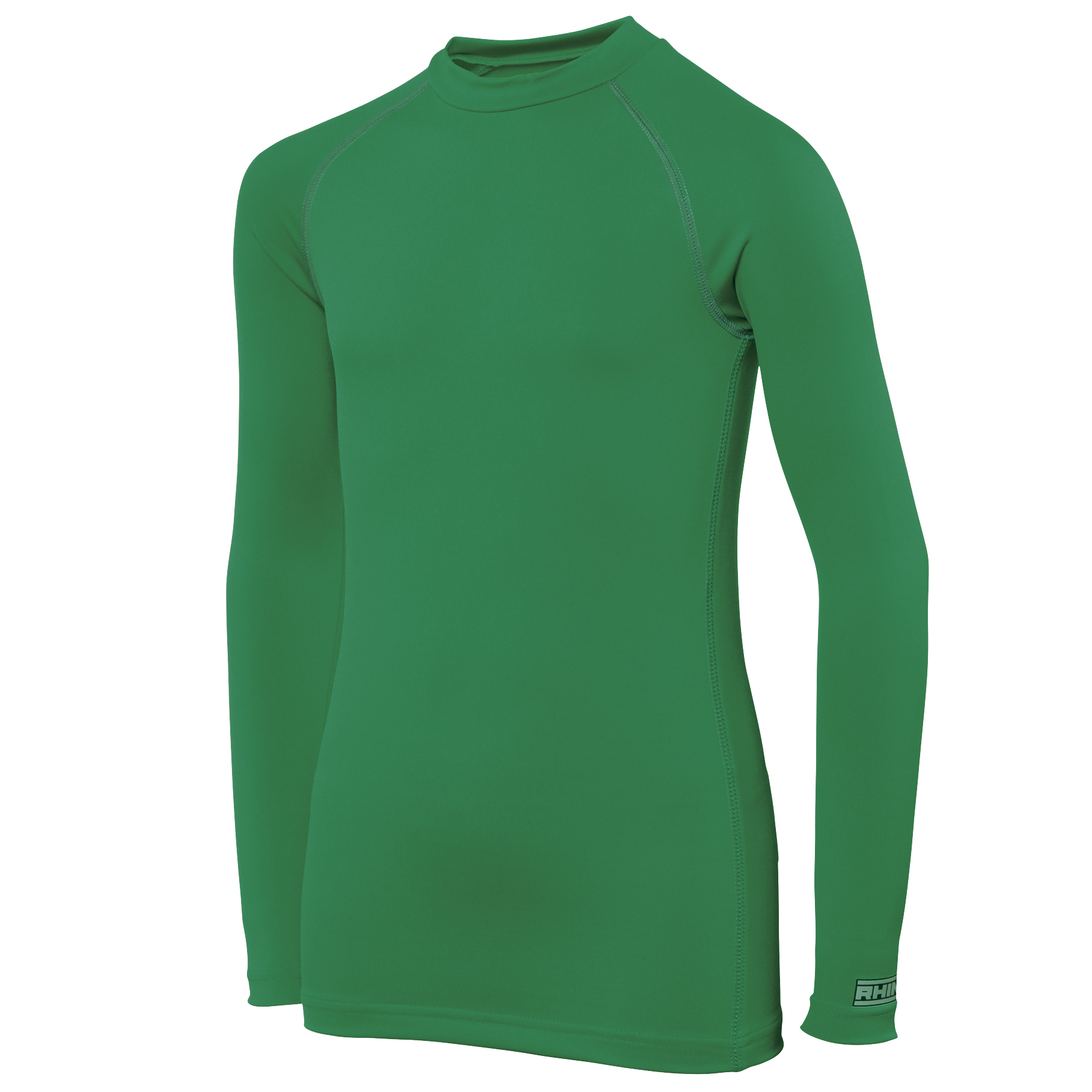 Rhino Childrens Boys Long Sleeve Thermal Underwear Base Layer Vest Top (SY-MY) (Green)