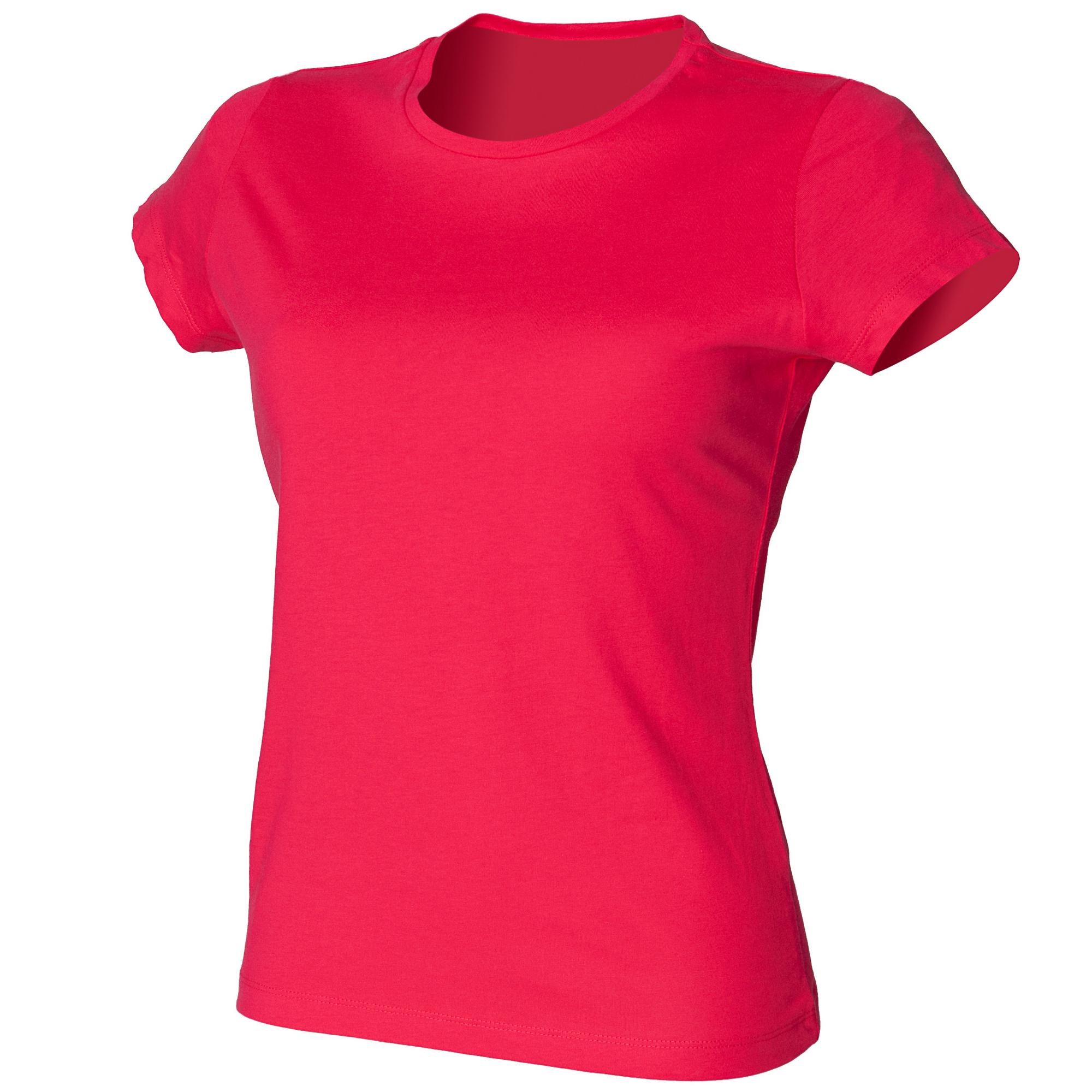 Skinni-Fit-Camiseta-Favourite-de-manga-corta-larga-para-chica-mujer