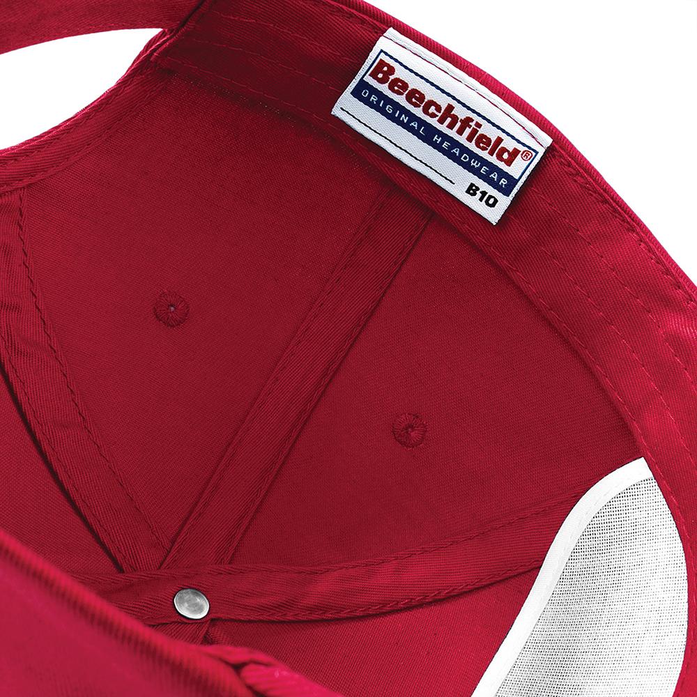Beechfield-Unisex-Plain-Original-5-Panel-Sports-Baseball-Cap-RW201