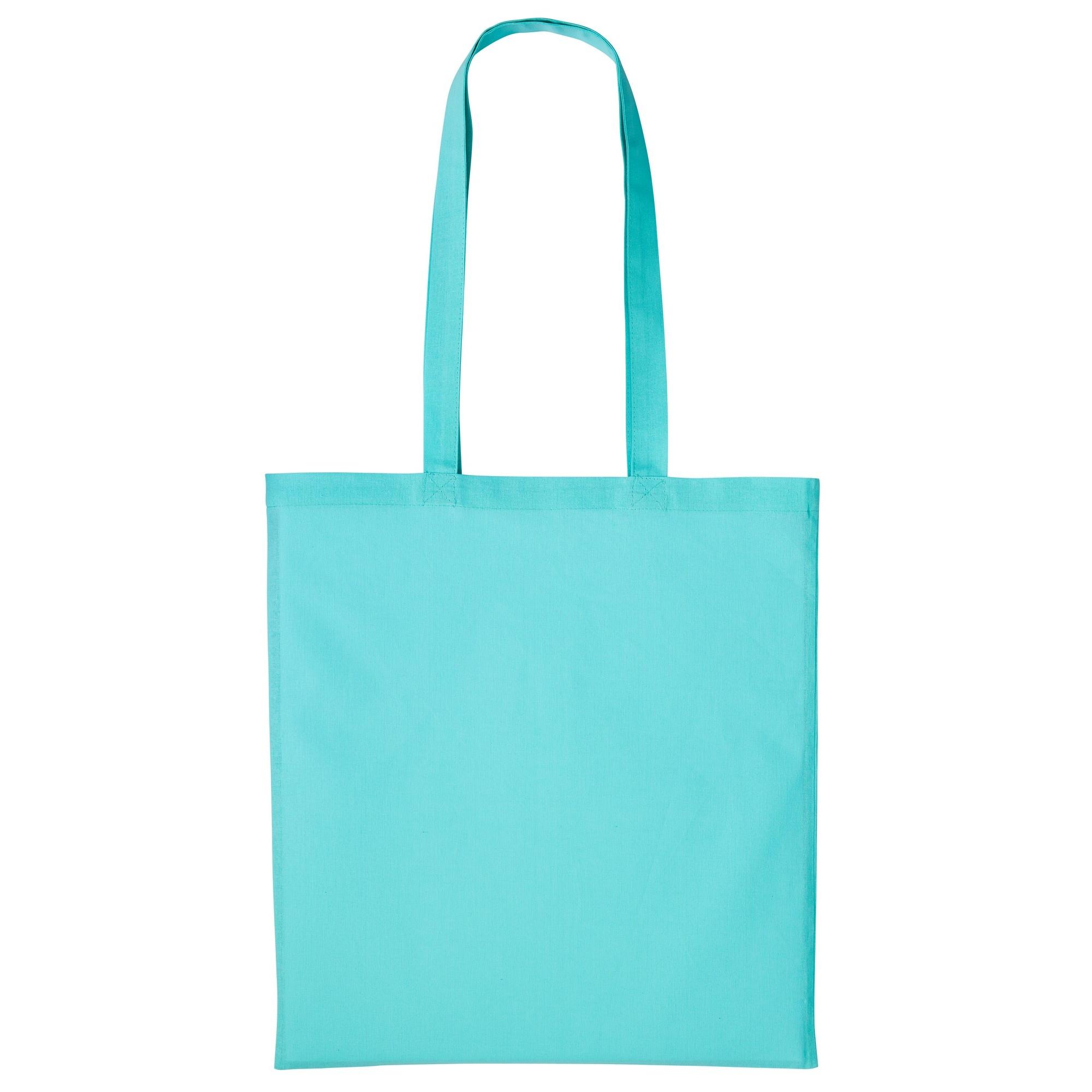 Nutshell Plain Strong Shoulder Shopper Bag (One Size) (Peppermint)