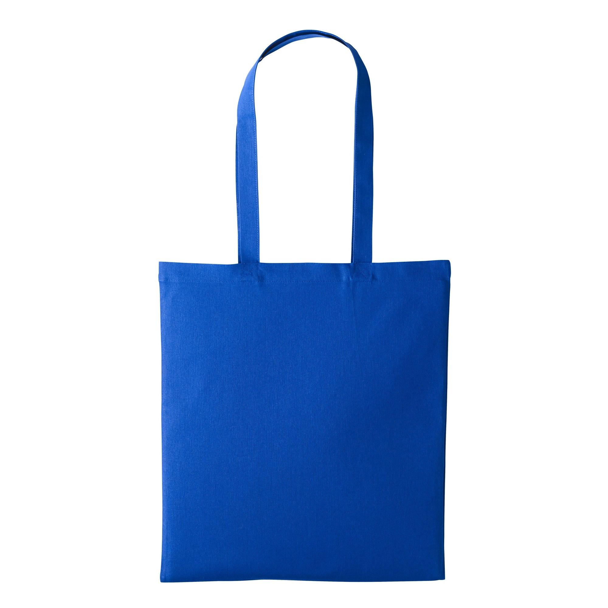 Nutshell Plain Strong Shoulder Shopper Bag (One Size) (Royal)