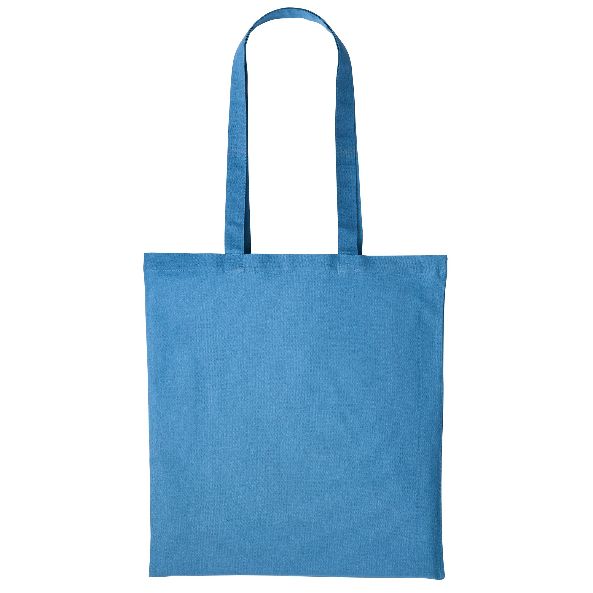 Nutshell Plain Strong Shoulder Shopper Bag (One Size) (Airforce Blue)