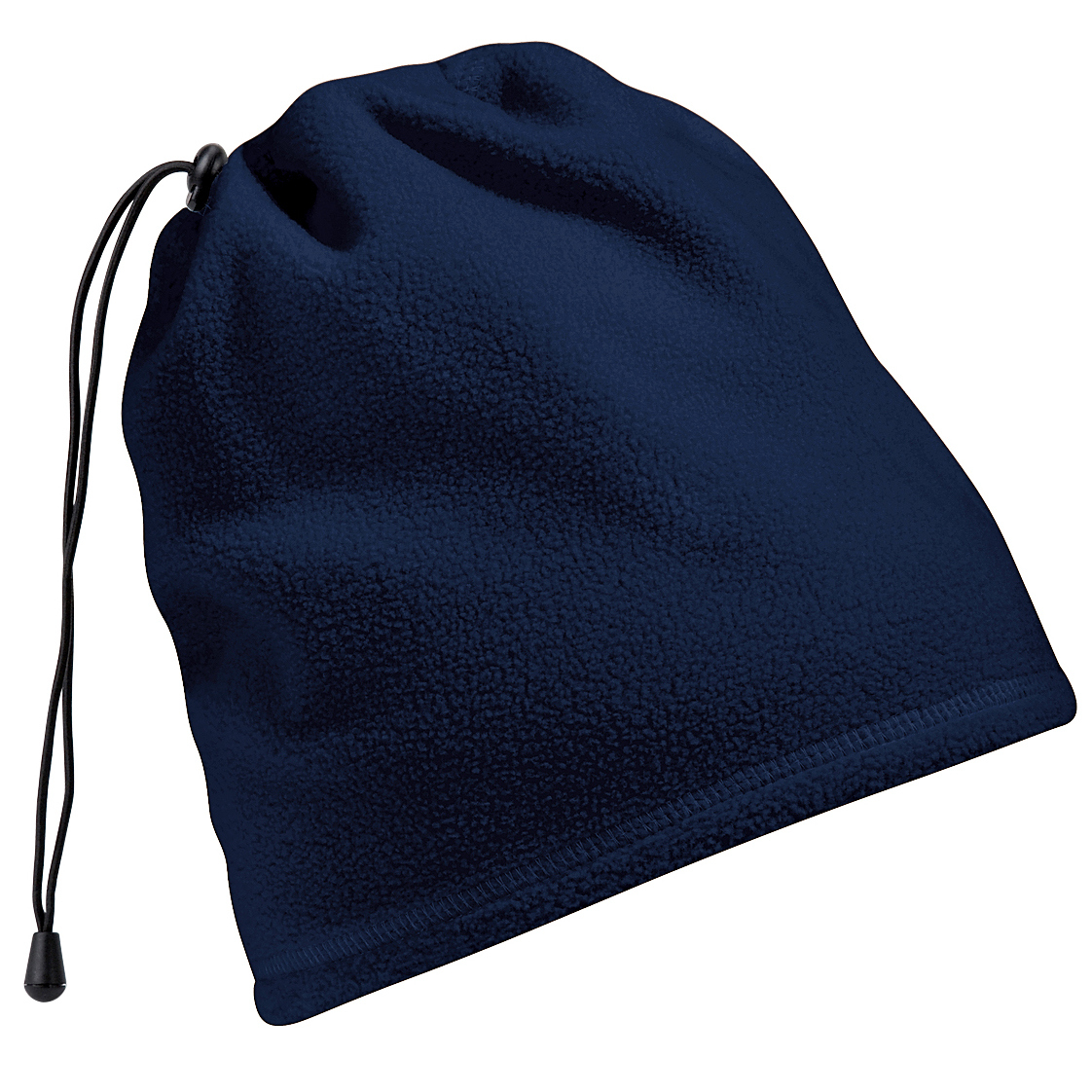 Beechfield Unisex Suprafleece Anti-Pilling 2in1 Winter Hat And Neck Warmer/Snood (One Size) (French Navy)