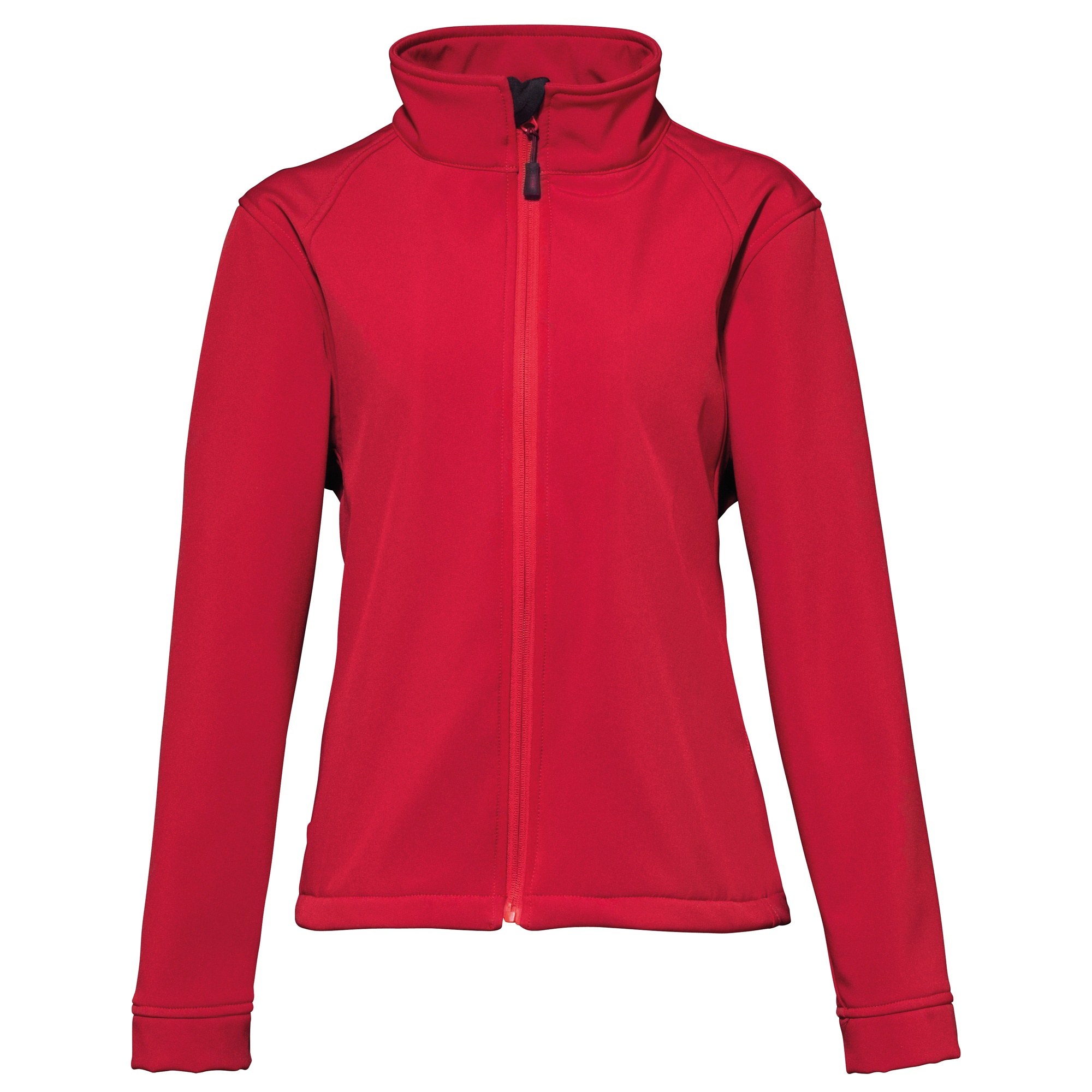 2786 Womens/Ladies 3 Layer Softshell Performance Jacket (Wind & Water Resistant) (M) (Red)