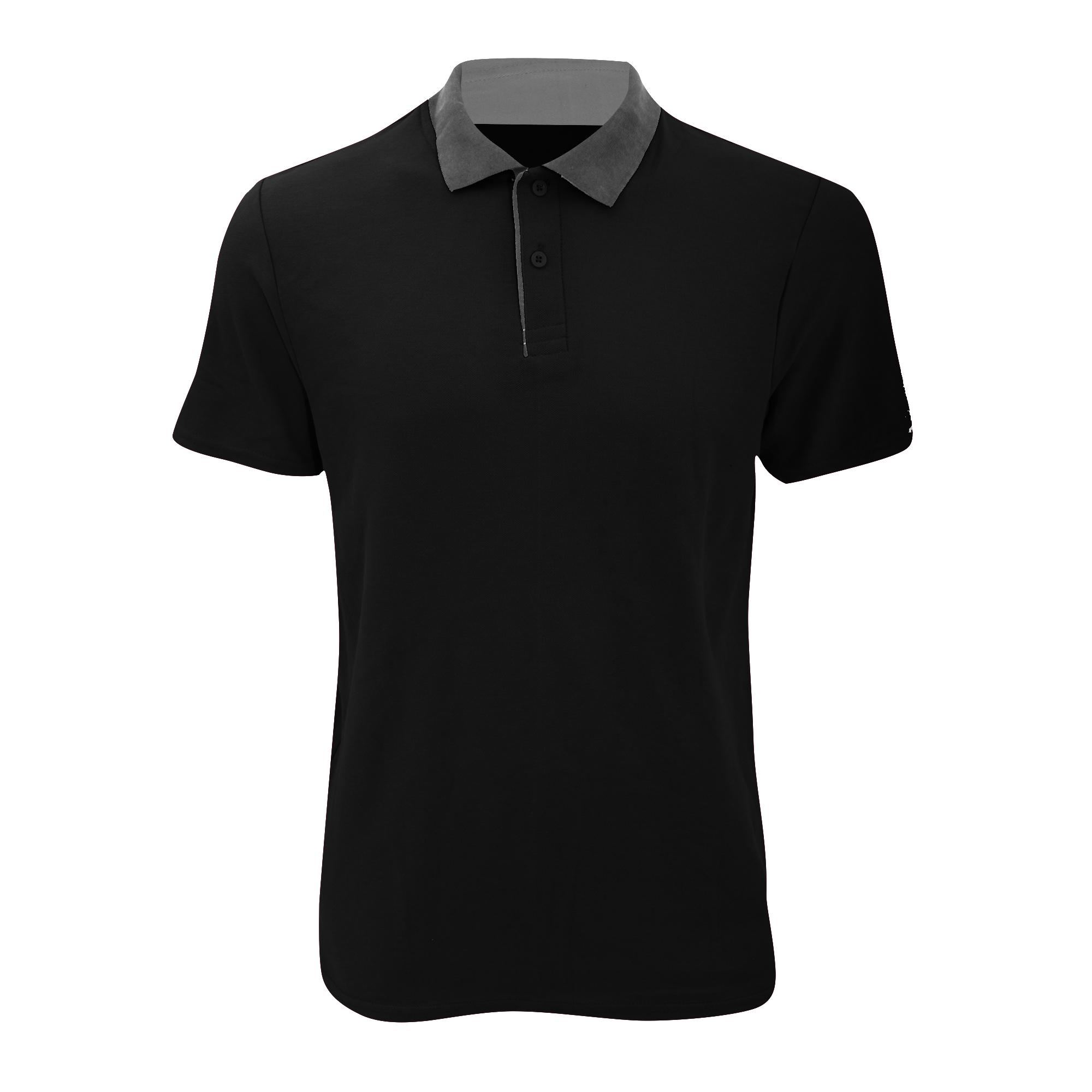 RTXtra Men/'s Classic Polo Top Shirt 3 Button Smart Casual Wear T-shirt Plain New