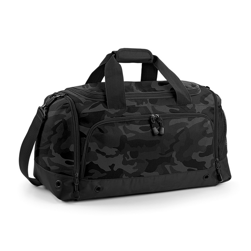 BagBase Sports Holdall / Duffle Bag (One Size) (Midnight Camo)
