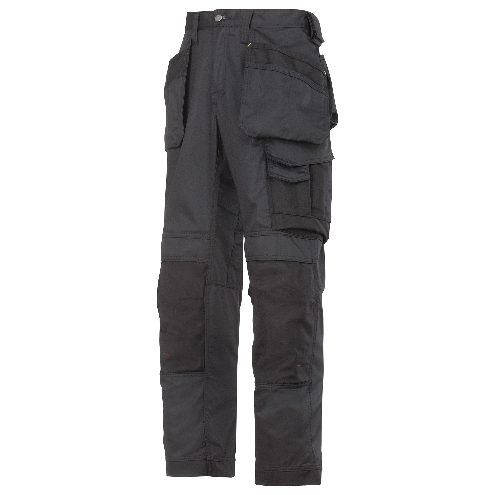 Snickers Mens Cooltwill Workwear Trousers / Pants (35R) (Black)