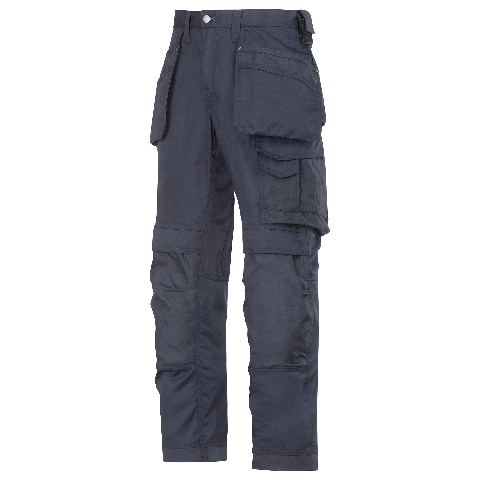 Snickers Mens Cooltwill Workwear Trousers / Pants (33R) (Navy)