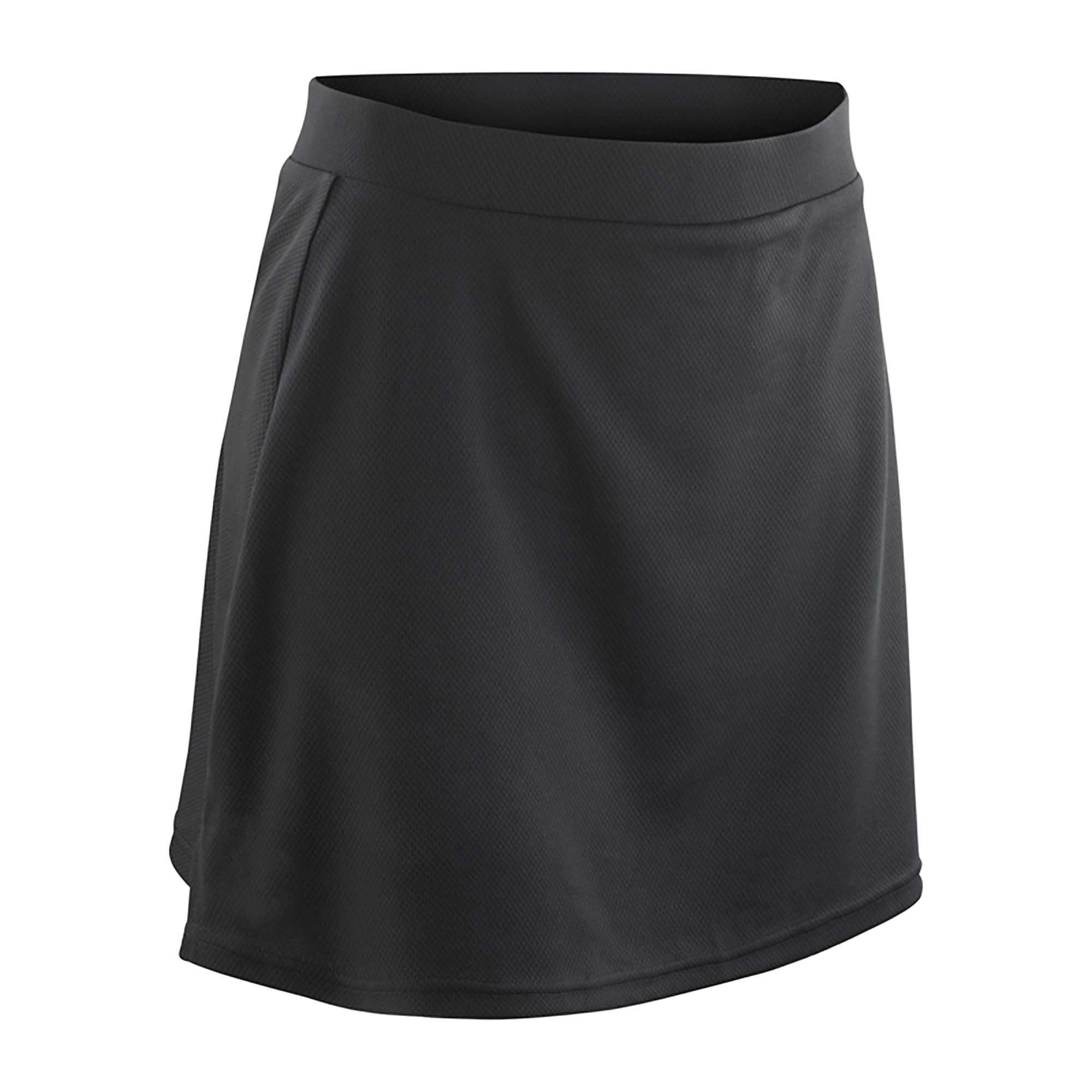 Spiro Girls Junior Training Sports Skort (S) (Black)