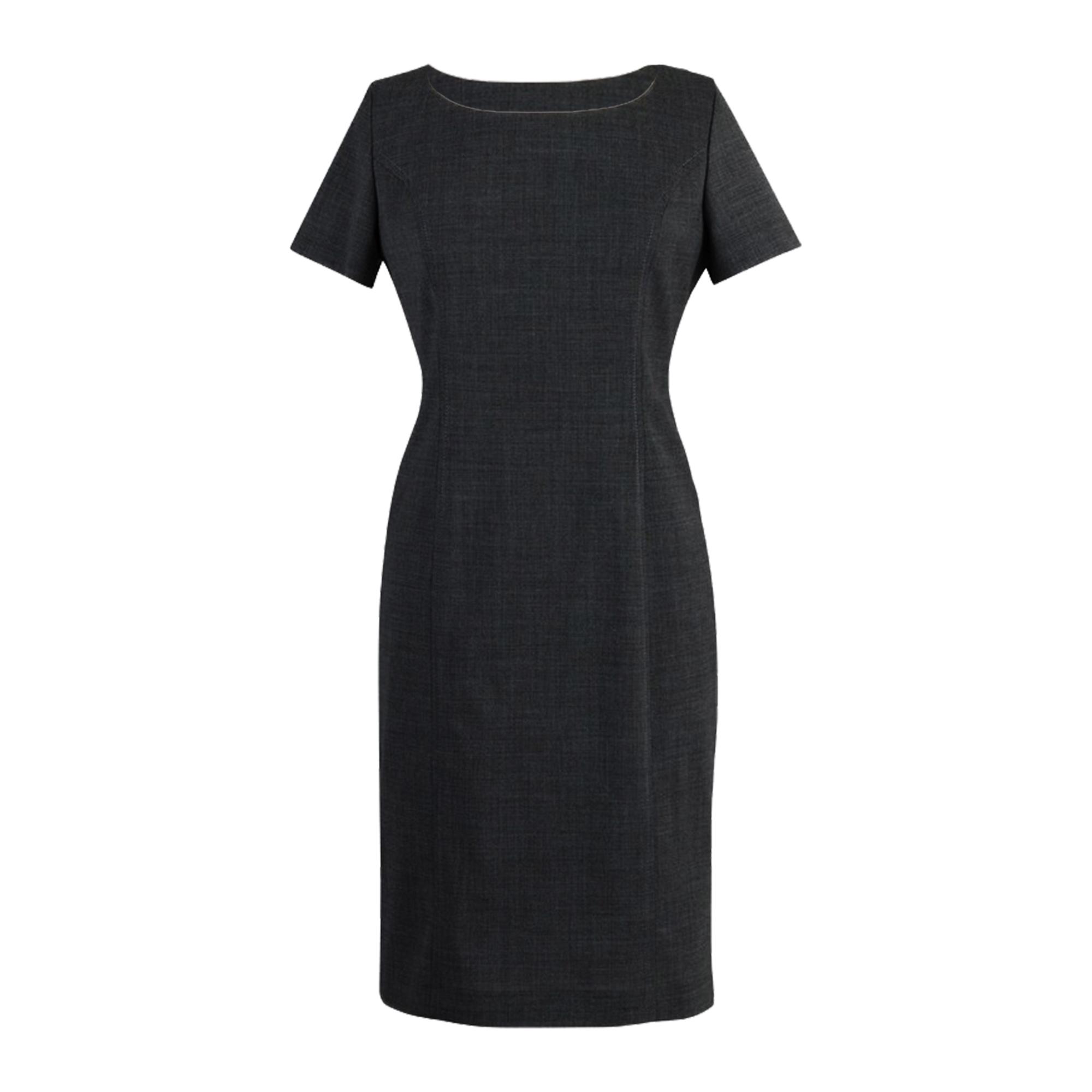 Brook Taverner Womens Teramo Dress (20 x Regular) (Black)