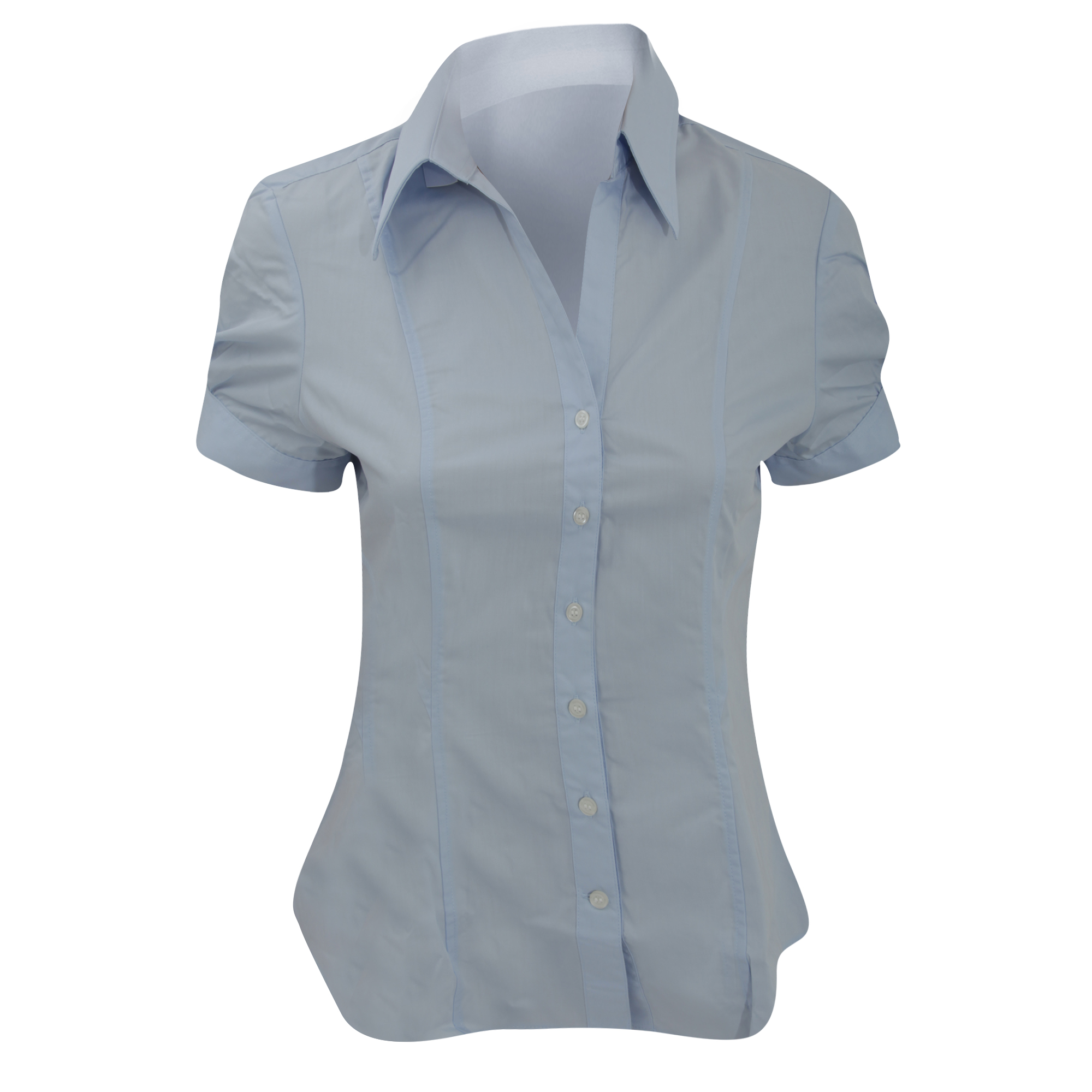 Brook Taverner Ladies/Womens Paduli Short Sleeve Blouse (16) (Blue)