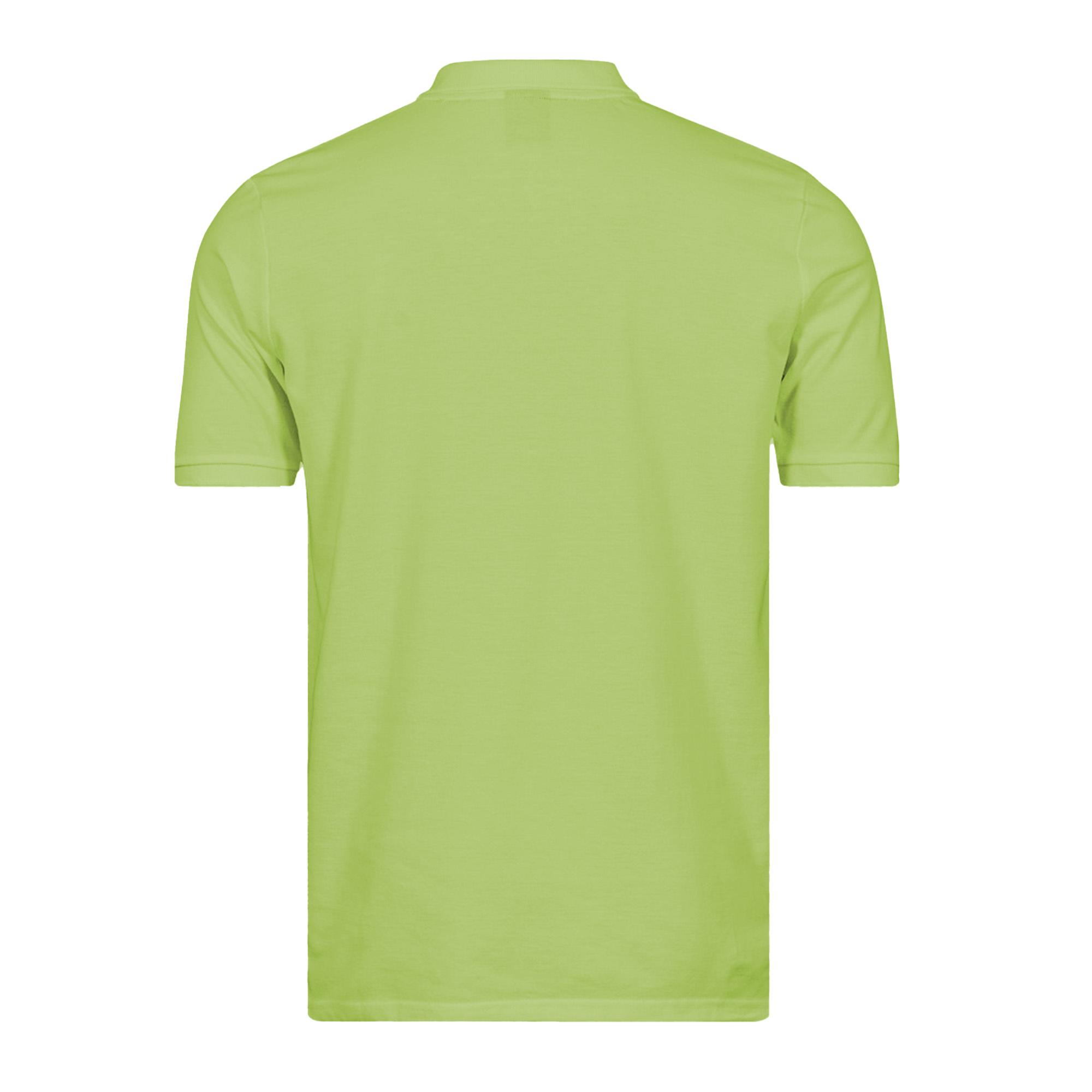 B&C Mens Heavymill Short Sleeve Cotton Polo Shirt (2XL) (Red)