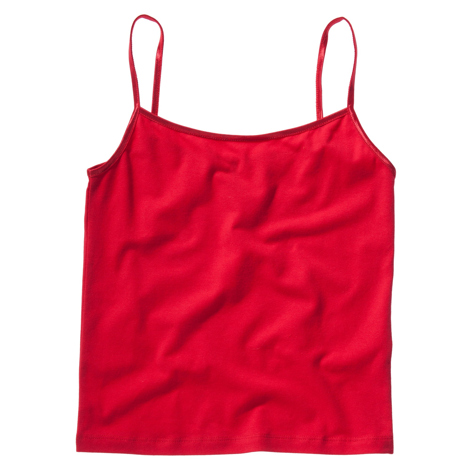 Bella + Canvas Womens/Ladies Cotton Spandex Camisole Top (S) (Red)