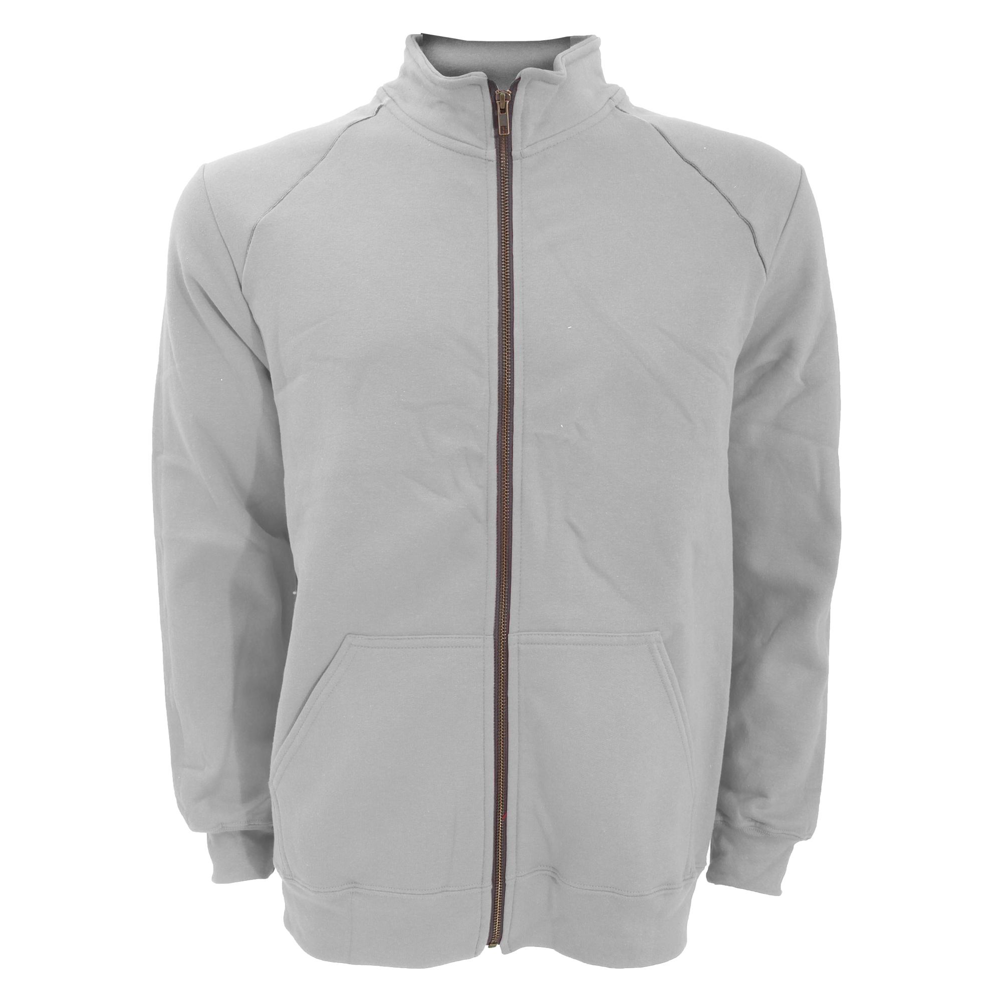 Gildan-Mens-Premium-Cotton-Ringspun-Fleece-Full-Zip-Jacket-L-S-M-2XL-RW3172 thumbnail 5
