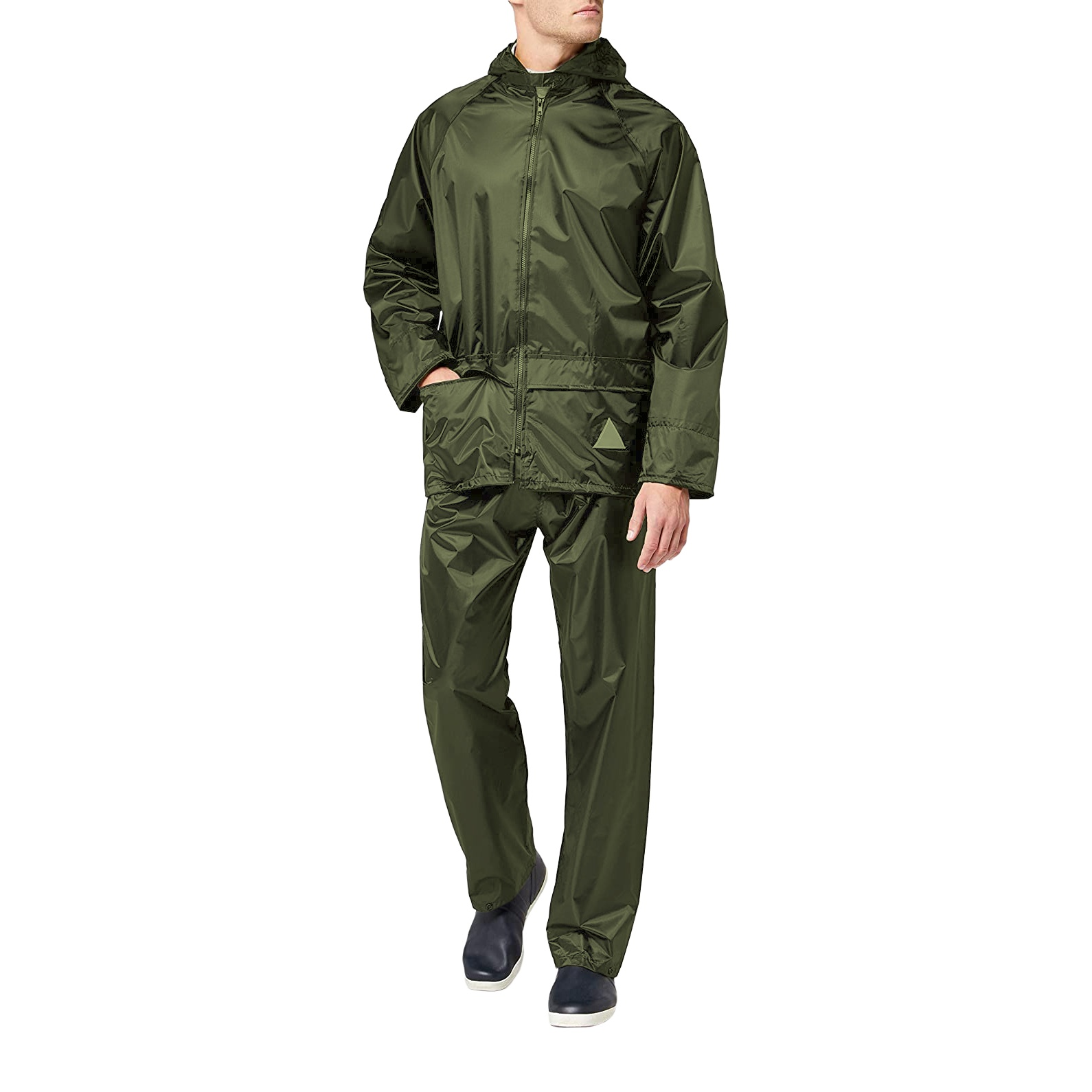 Result Mens Heavyweight Waterproof Rain Suit (Jacket & Trouser Suit) (L) (Royal)