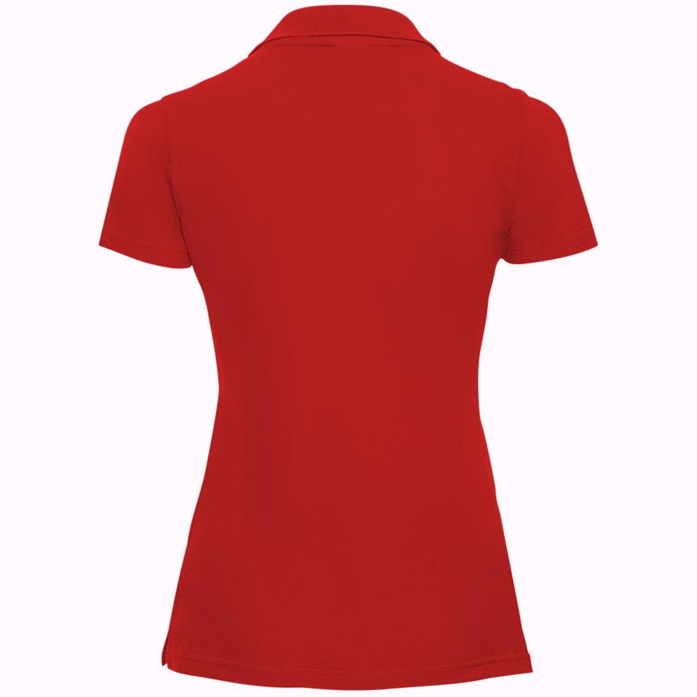 miniature 11 - Polo-uni-Russell-manches-courtes-100-coton-femme-et-fille-XS-2XL-RW3279