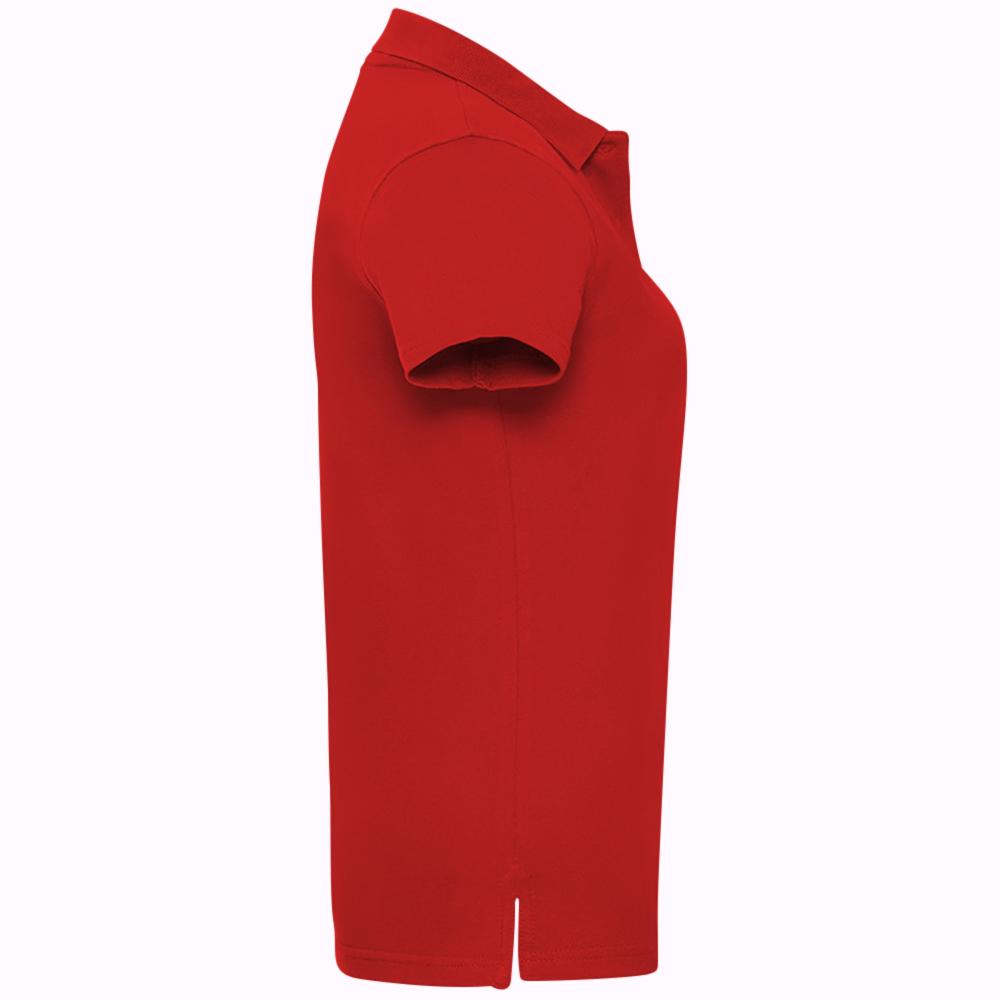 miniature 12 - Polo-uni-Russell-manches-courtes-100-coton-femme-et-fille-XS-2XL-RW3279