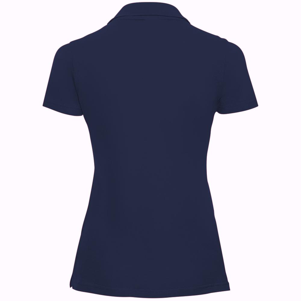 miniature 33 - Polo-uni-Russell-manches-courtes-100-coton-femme-et-fille-XS-2XL-RW3279