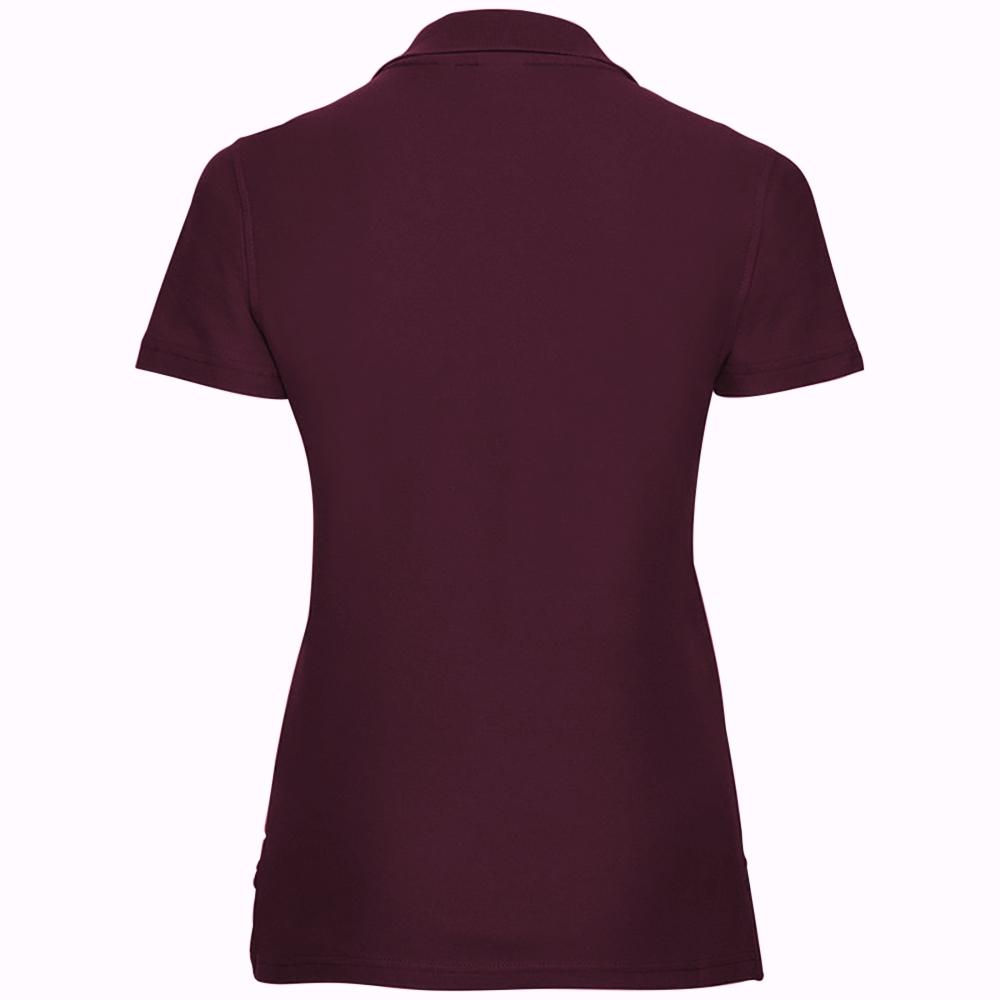 miniature 19 - Polo-uni-Russell-manches-courtes-100-coton-femme-et-fille-XS-2XL-RW3281