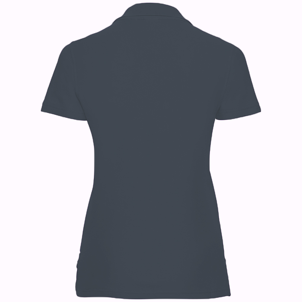 miniature 14 - Polo-uni-Russell-manches-courtes-100-coton-femme-et-fille-XS-2XL-RW3281
