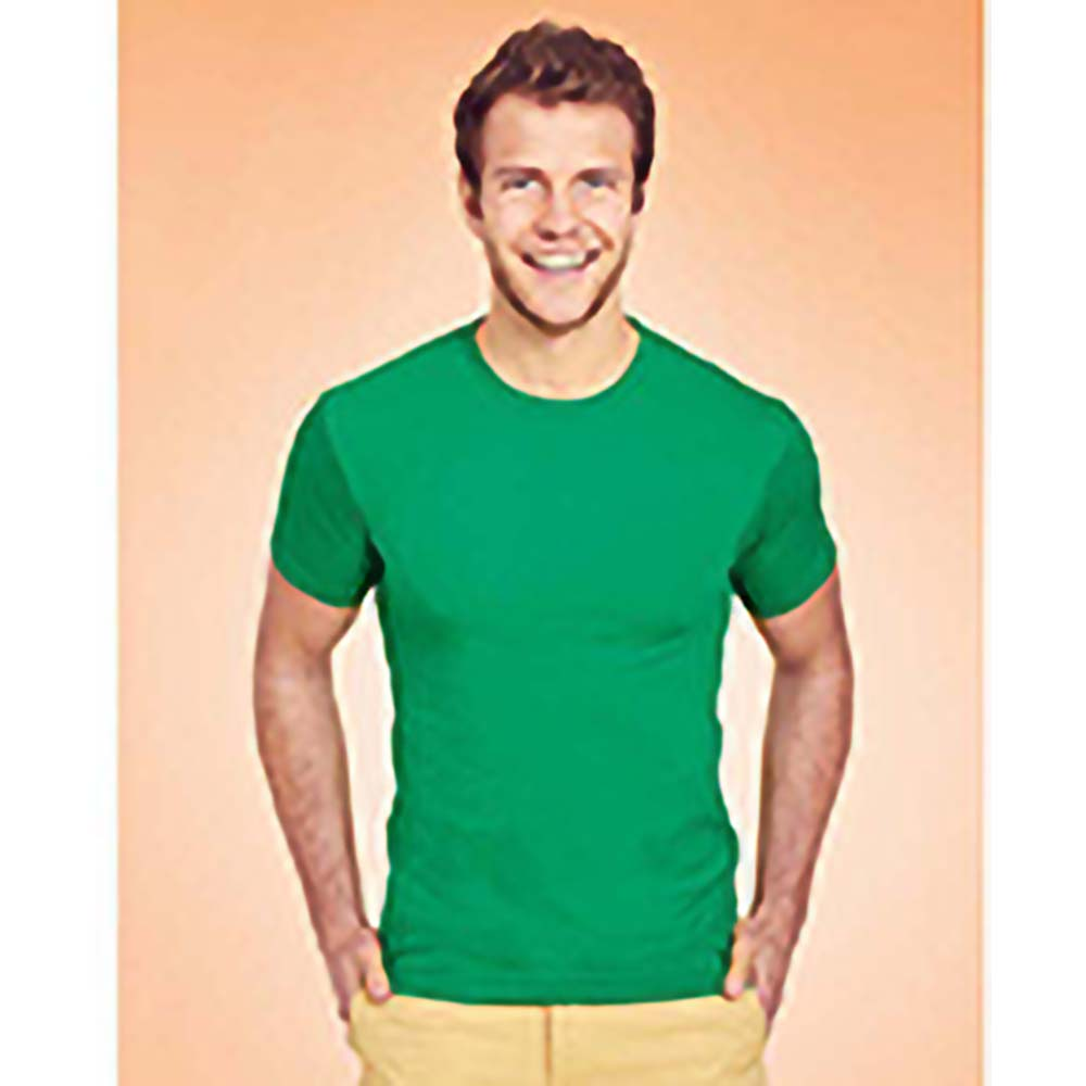 Fruit-Of-The-Loom-Camiseta-tacto-super-suave-Sofspun-manga-RW3291