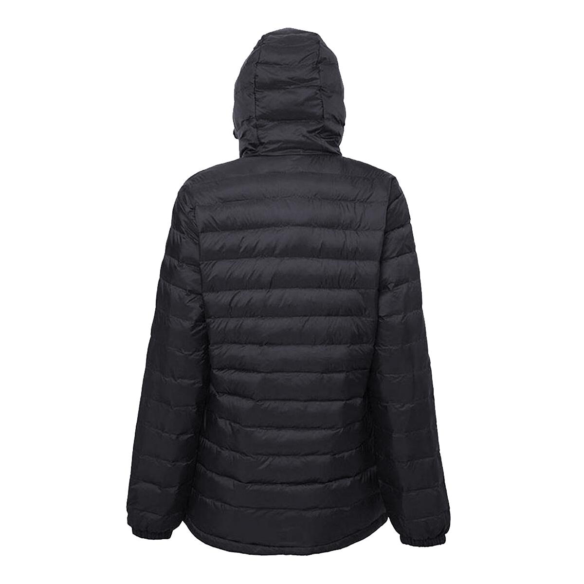 2786 Womens/Ladies Hooded Water & Wind Resistant Padded Jacket (S) (Navy/Sapphire)