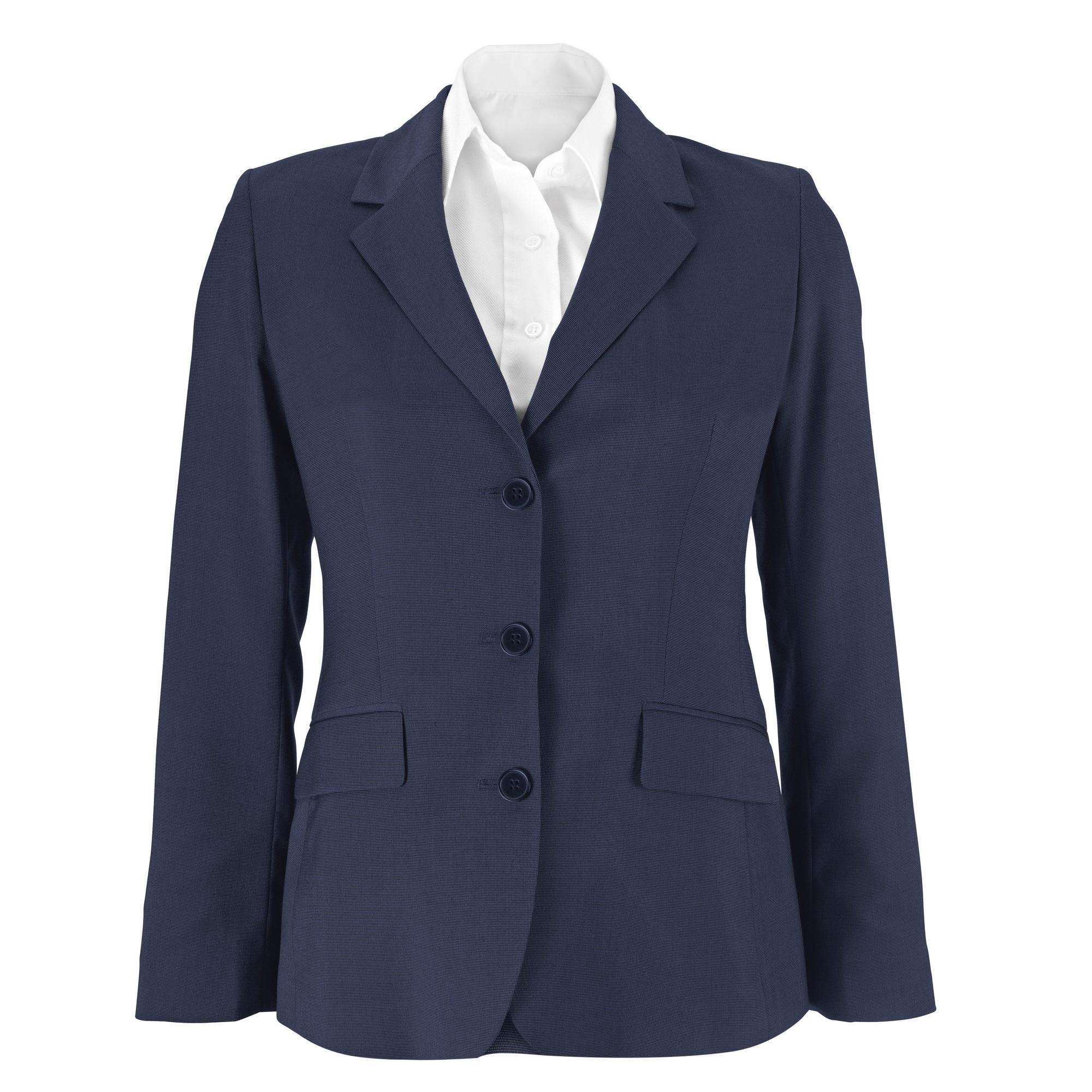 Alexandra Womens/Ladies Icona Long Line Formal Work Jacket (10R) (Charcoal)