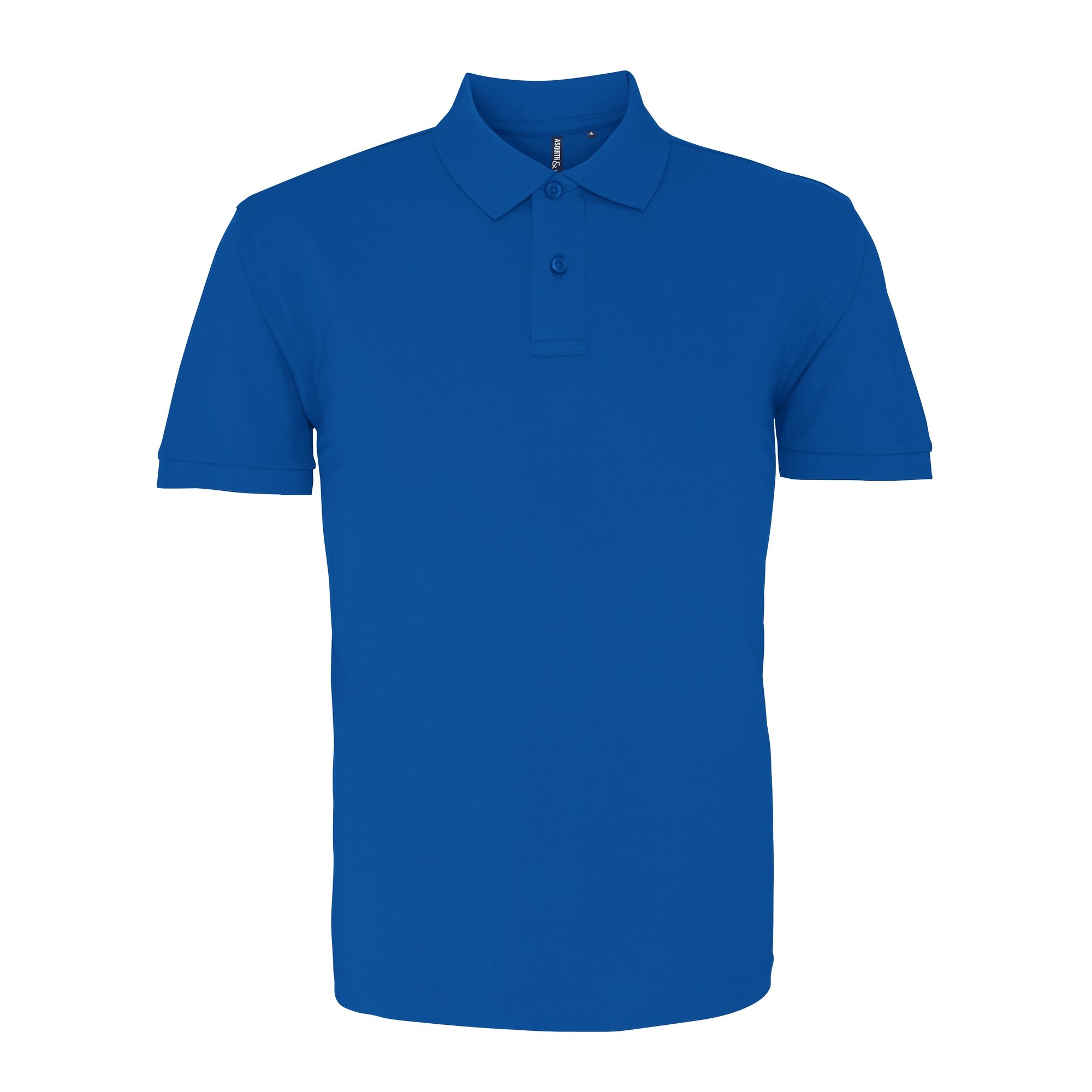 Asquith & Fox Mens Plain Short Sleeve Polo Shirt (3XL) (Cardinal Red)