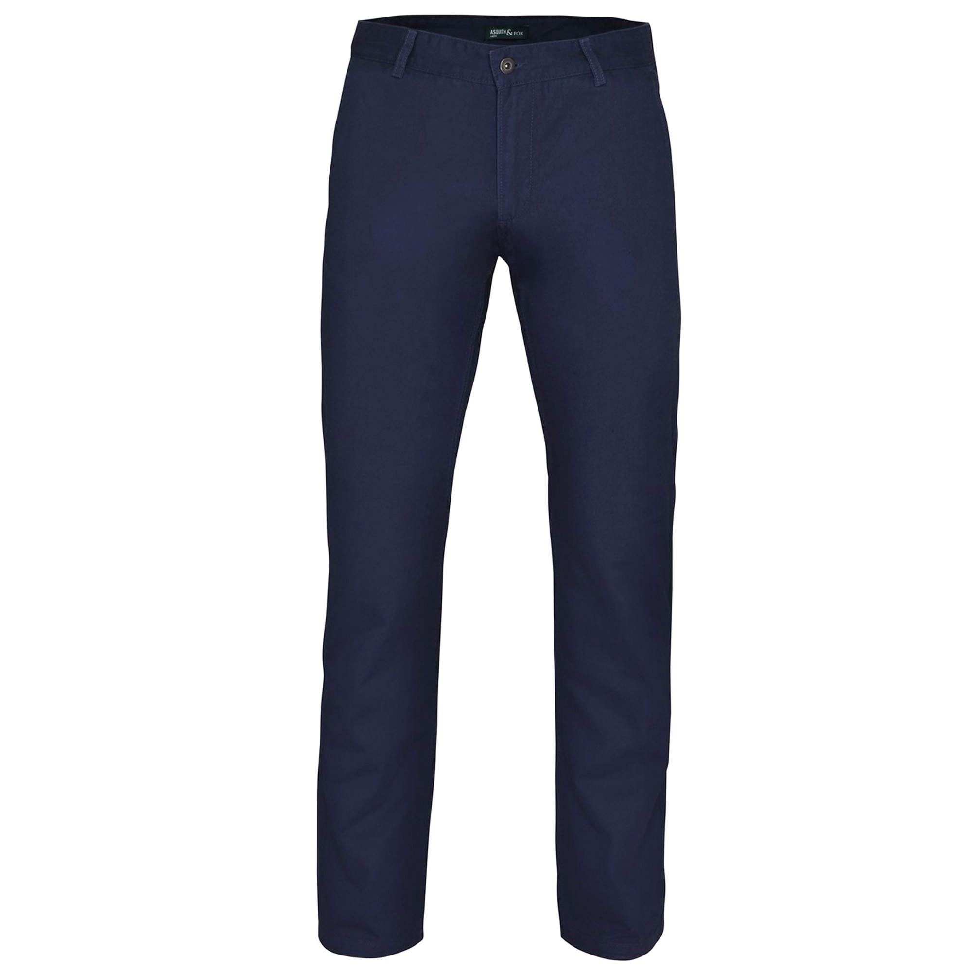 Asquith & Fox Mens Classic Casual Chinos/Trousers (3XLU) (Burgundy)