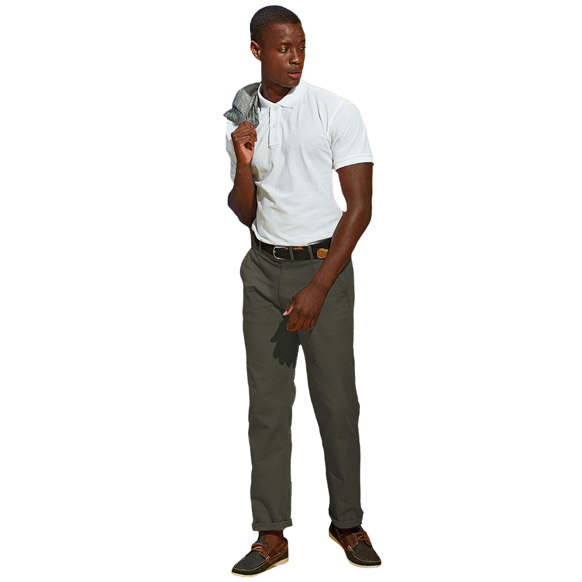 Asquith & Fox Mens Classic Casual Chinos/Trousers (4XLU) (Royal)