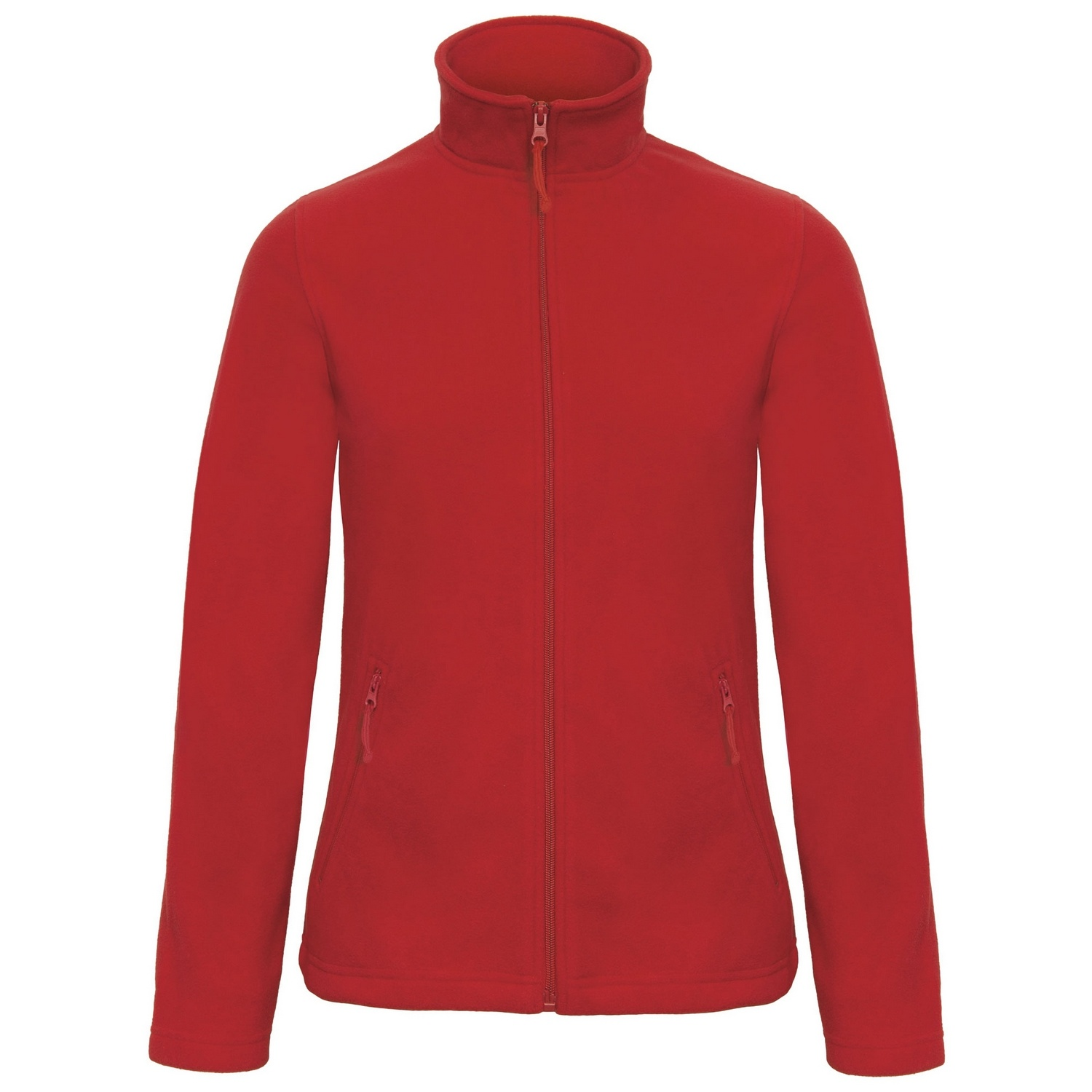 B&C Collection Womens/Ladies ID 501 Microfleece Jacket (3XL) (Red)