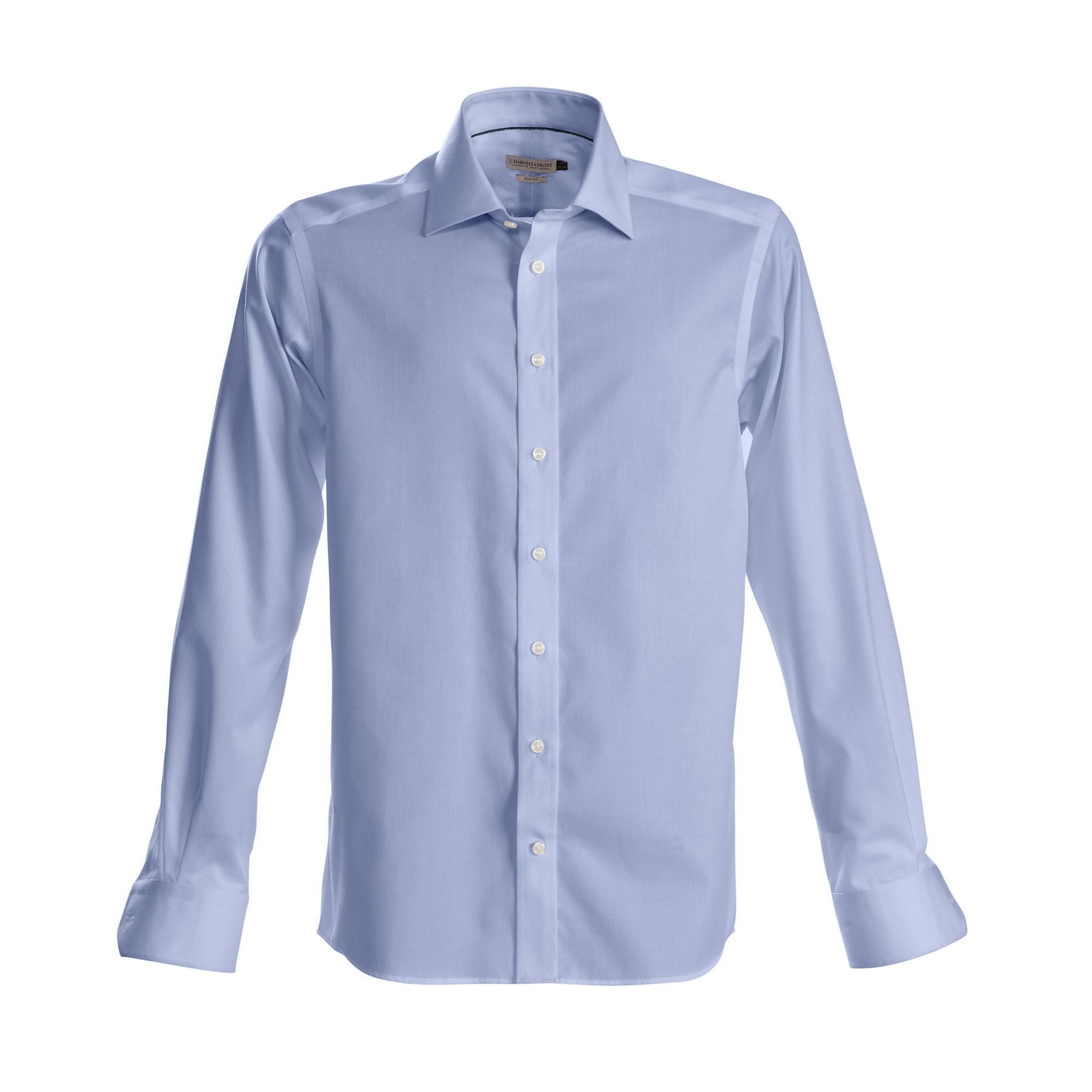 J Harvest & Frost Mens Green Bow Collection Regular Fit Formal Shirt (4XL) (Sky Blue)