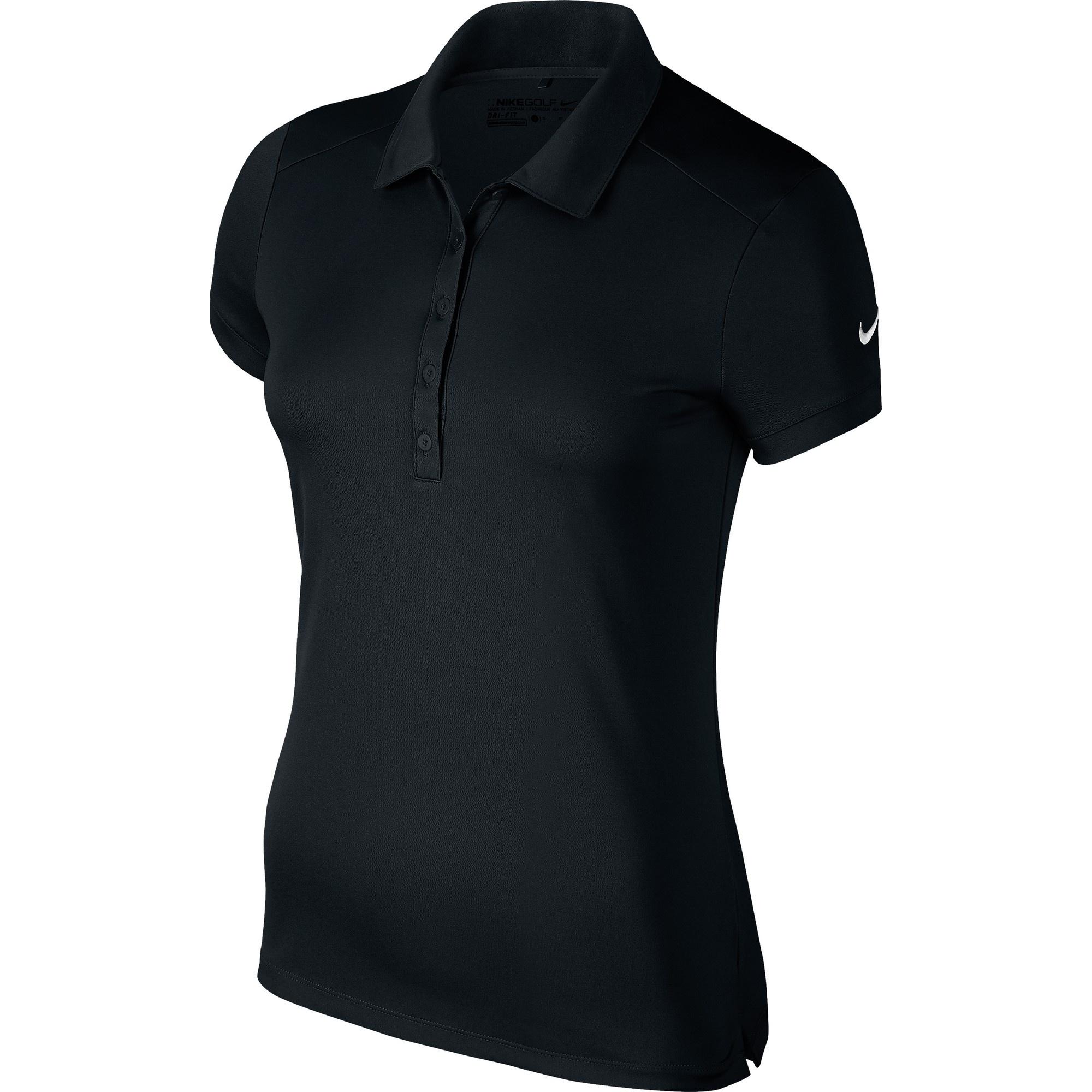 Nike Womens/Ladies Victory Short Sleeve Solid Polo Shirt ...