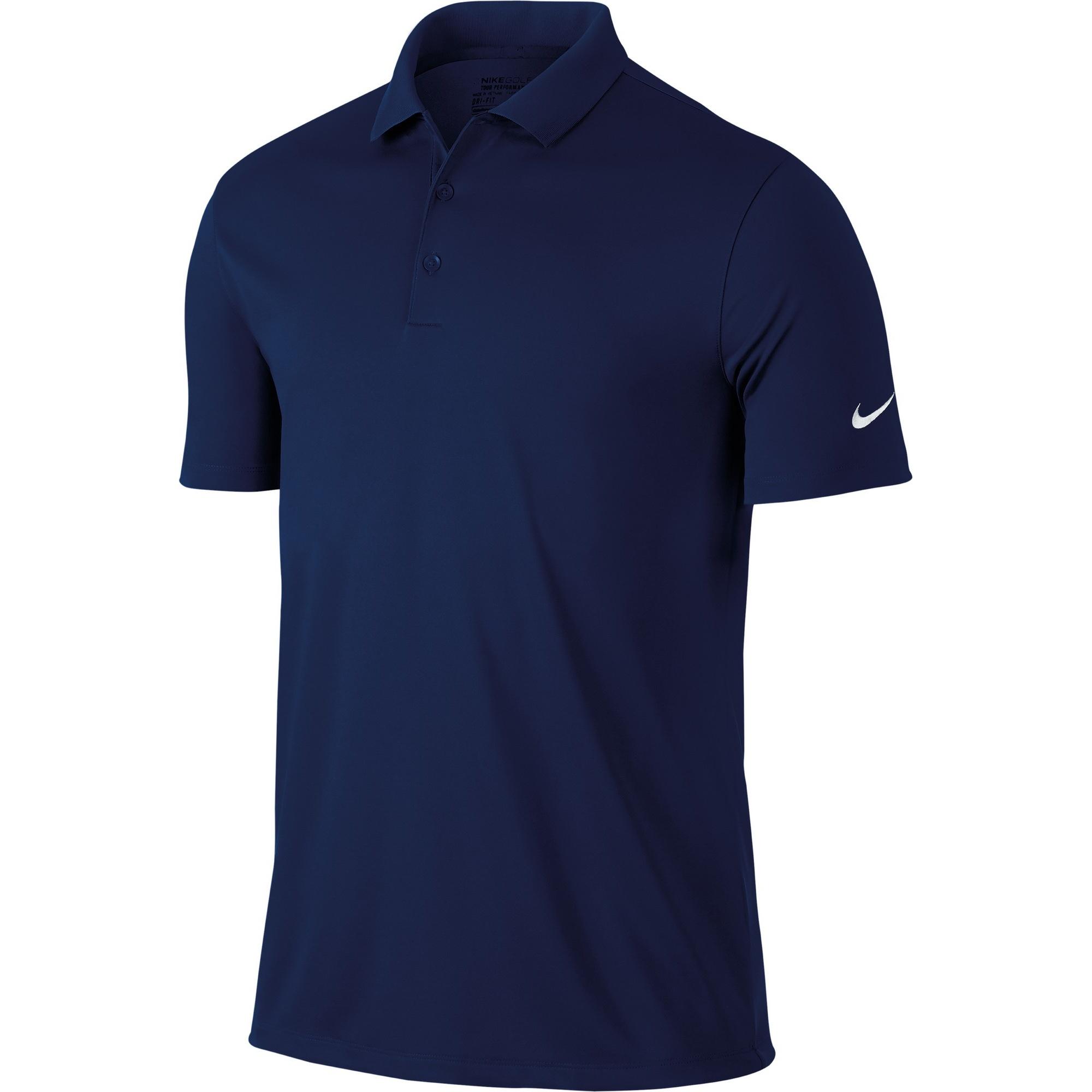 Dettagli su Nike Victory Polo Tinta Unita manica Corta Uomo (RW3930)