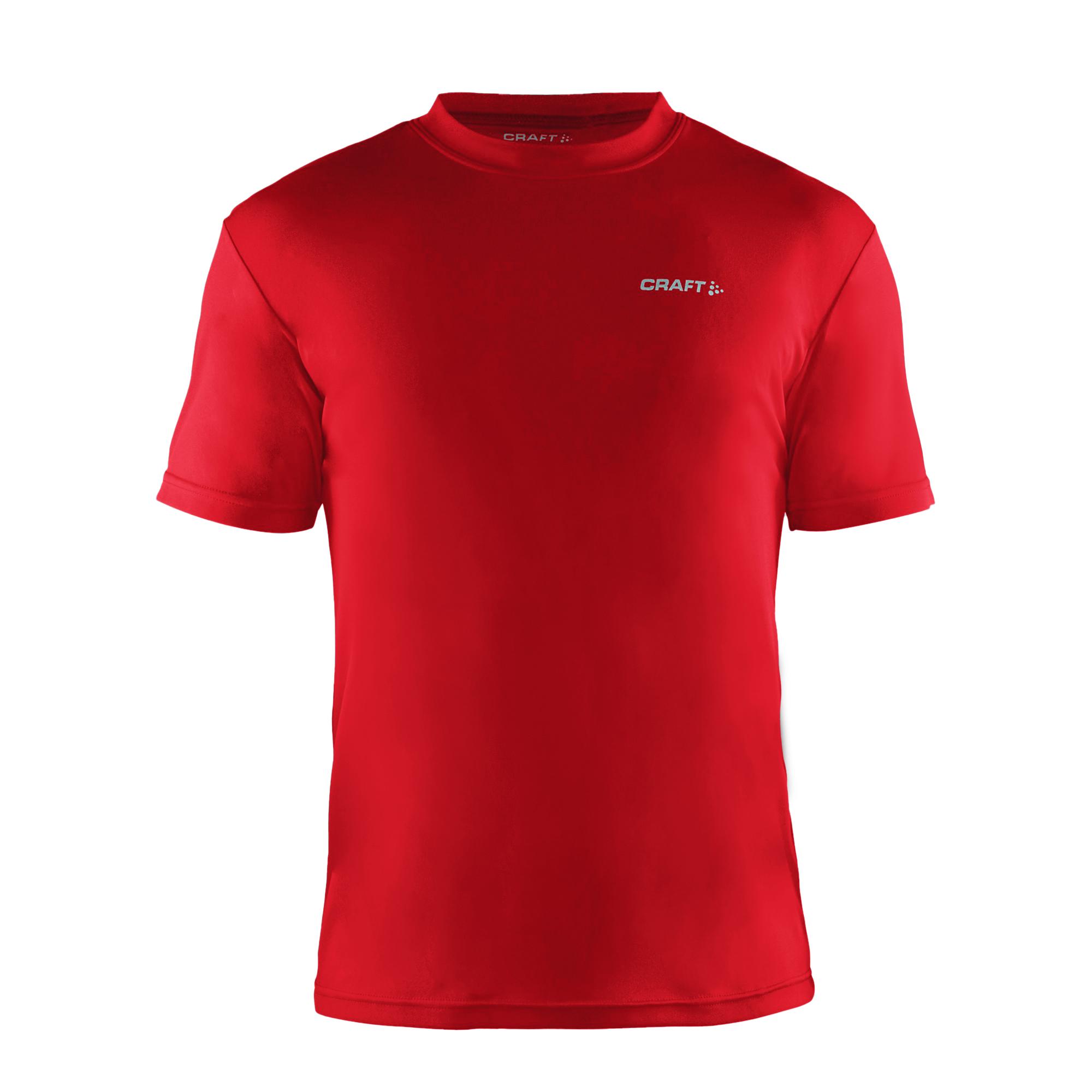 Craft Mens Prime Lightweight Moisture Wicking Sports T-Shirt (L) (White)