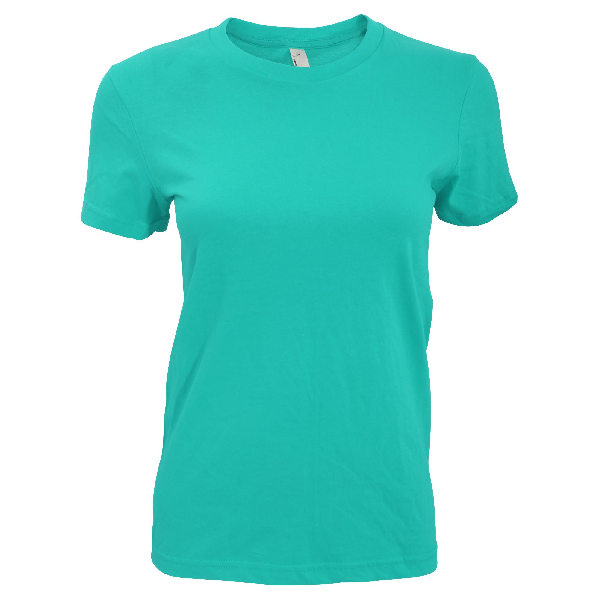 American Apparel- Camiseta lisa de manga corta para mujer (RW4036 ... e69e3fb340d