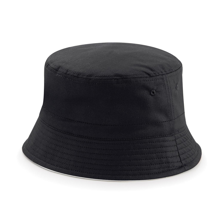 ce76479fc5e Beechfield Unisex Classic Reversible Bucket Hat UK Size LXL Black ...