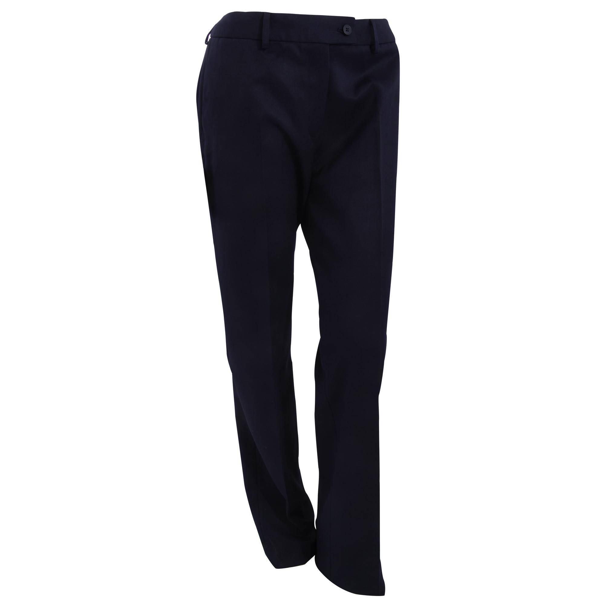 Brook Taverner Womens/Ladies Aura Formal Work/Suit Trousers (12U) (Navy)