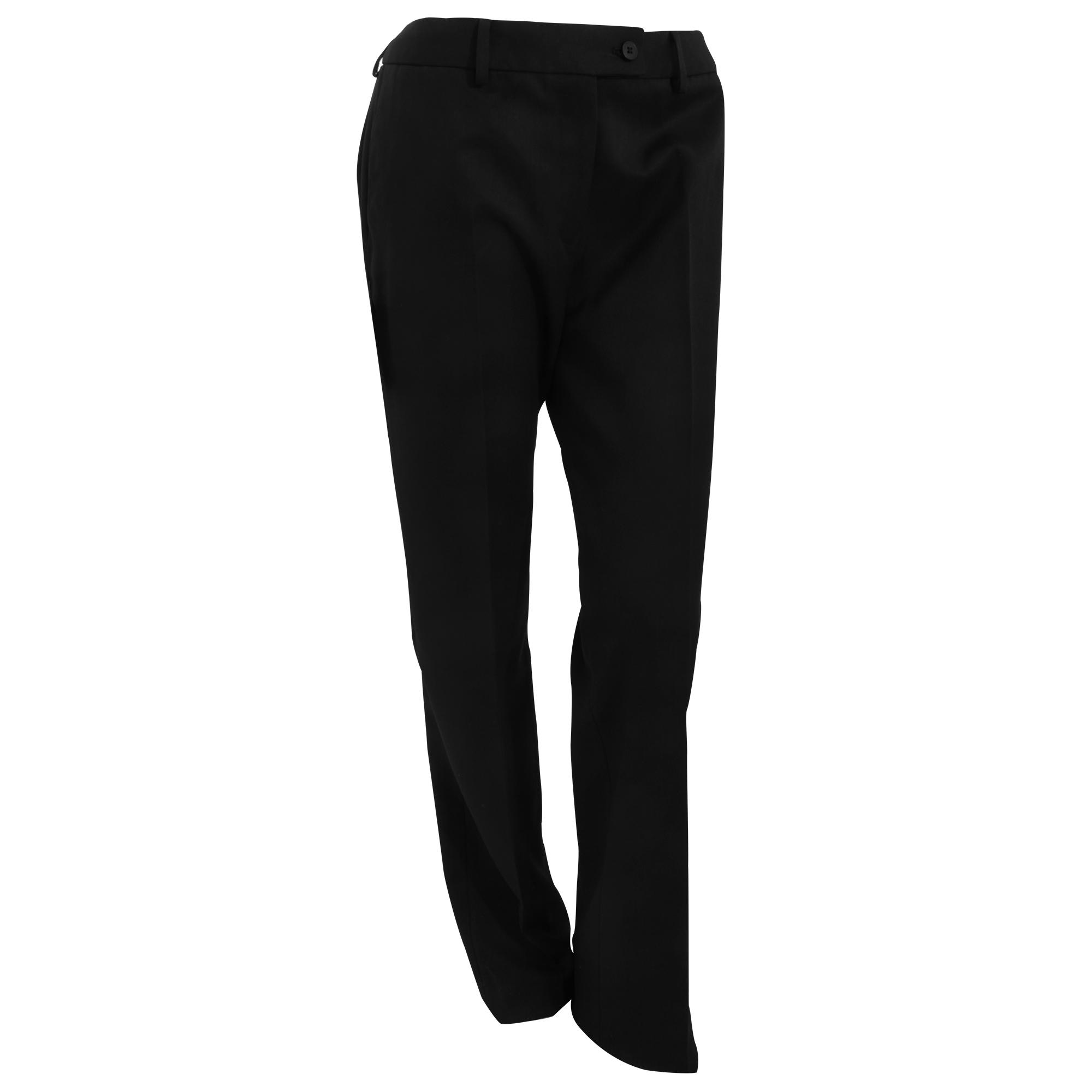 Brook Taverner Womens/Ladies Aura Formal Work/Suit Trousers (14U) (Black)