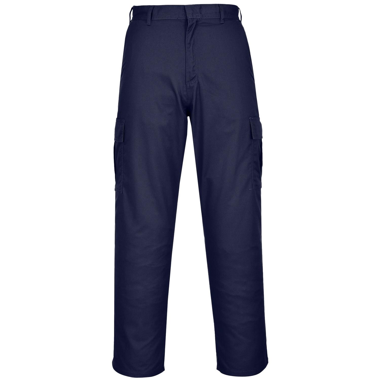 Portwest Mens Combat Work Trousers (32T) (Dark Navy)
