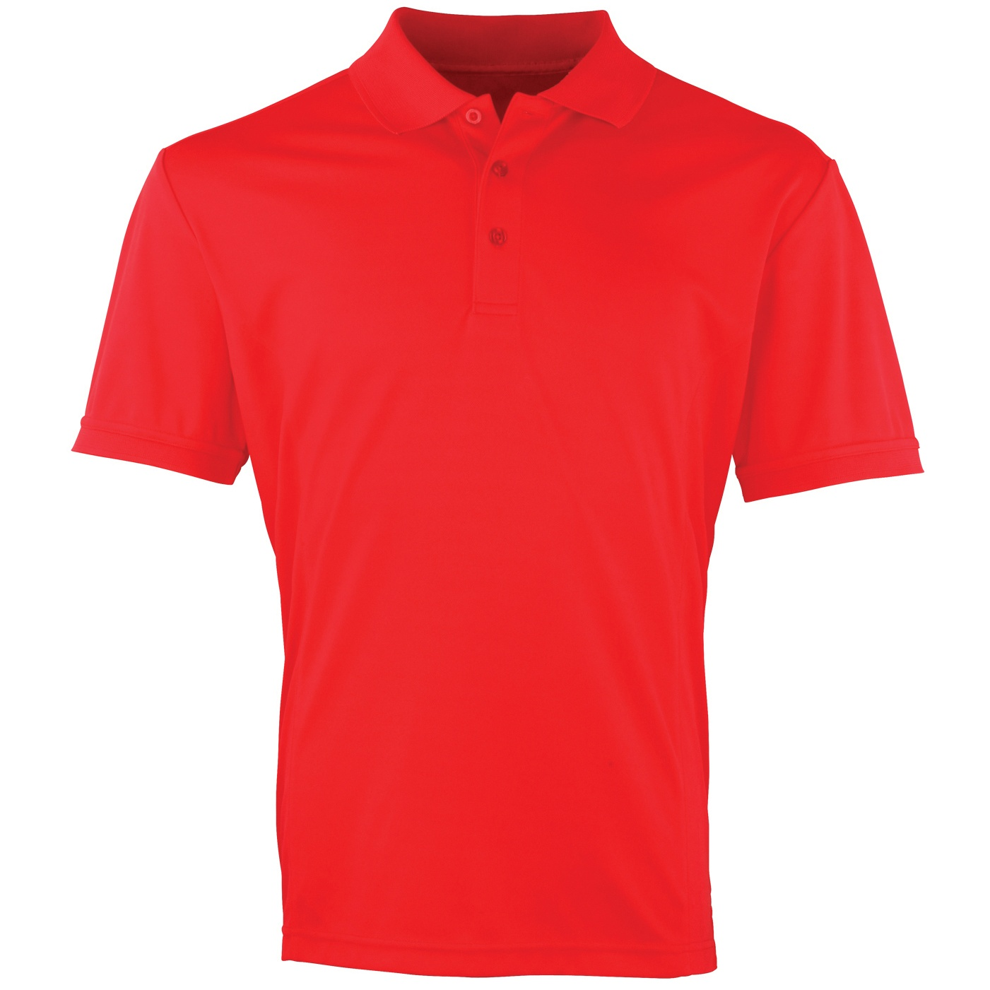 Premier Mens Coolchecker Pique Short Sleeve Polo T-Shirt (S) (Light Blue)