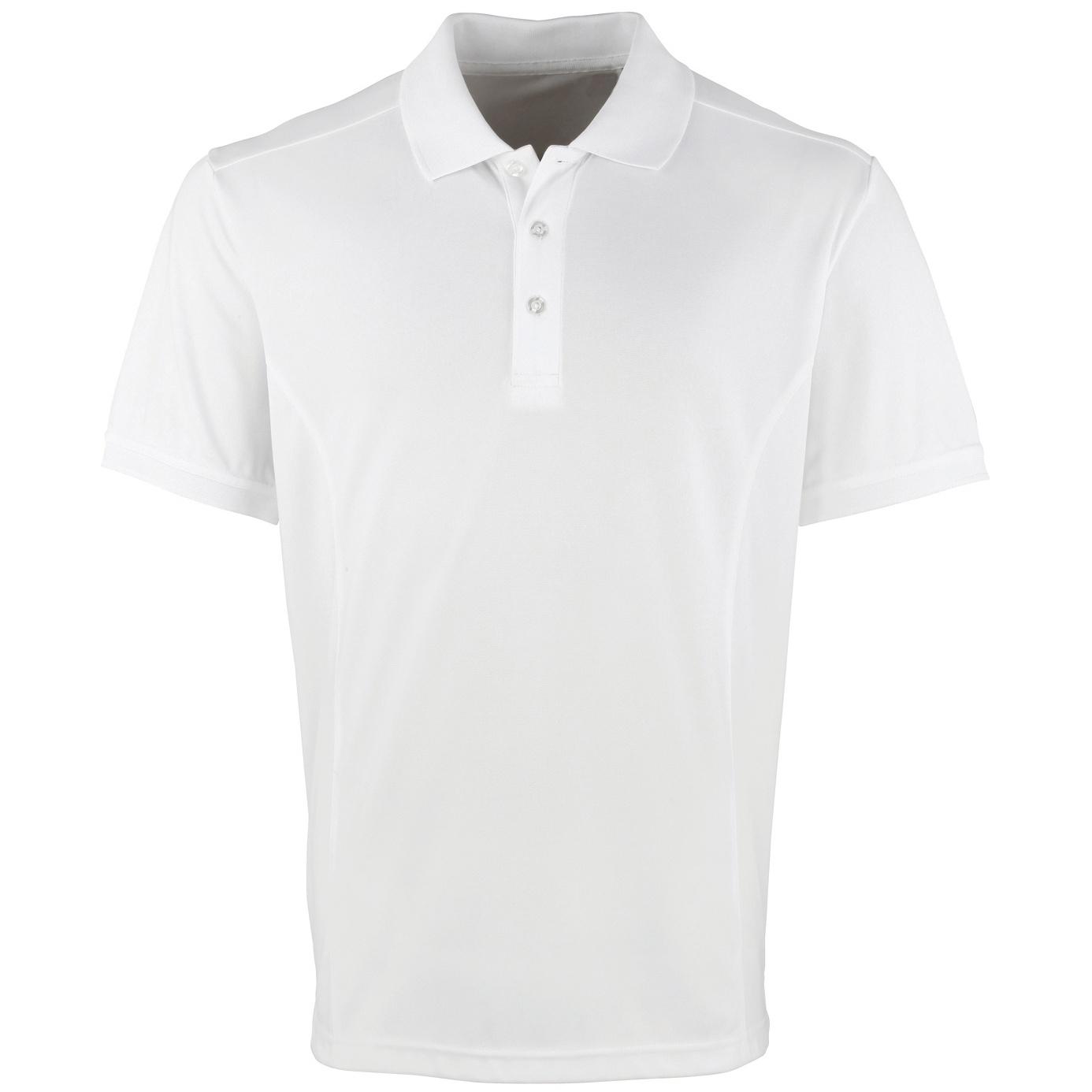 Premier Mens Coolchecker Pique Short Sleeve Polo T-Shirt (5XL) (Dark Grey)